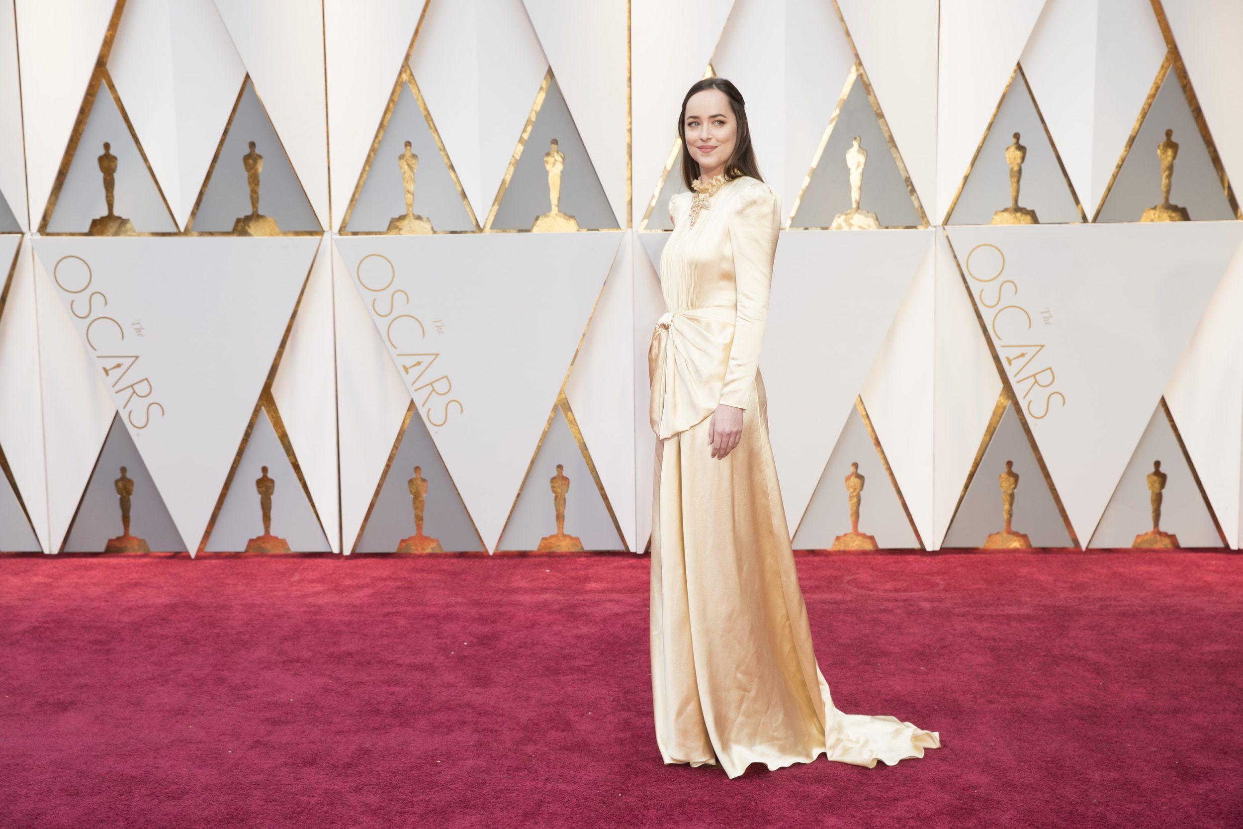 THE OSCARS(r) - The 89th Oscars(r)  broadcasts live on Oscar(r) SUNDAY, FEBRUARY 26, 2017, on the ABC Television Network. (ABC/Tyler Golden) DAKOTA JOHNSON
