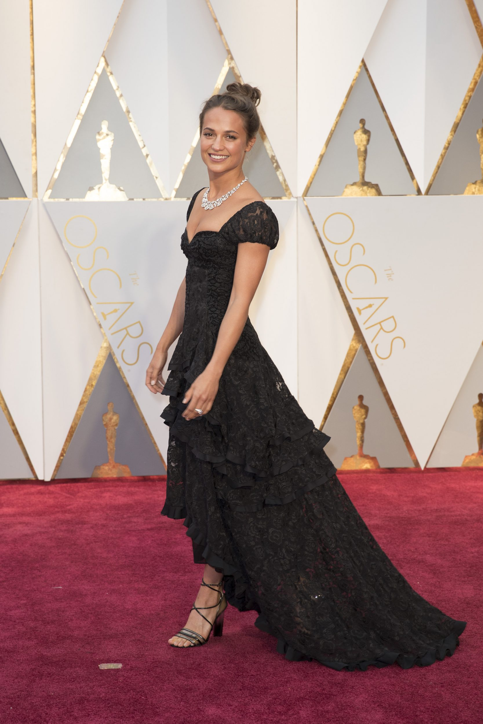 THE OSCARS(r) - The 89th Oscars(r)  broadcasts live on Oscar(r) SUNDAY, FEBRUARY 26, 2017, on the ABC Television Network. (ABC/Tyler Golden) ALICIA VIKANDER