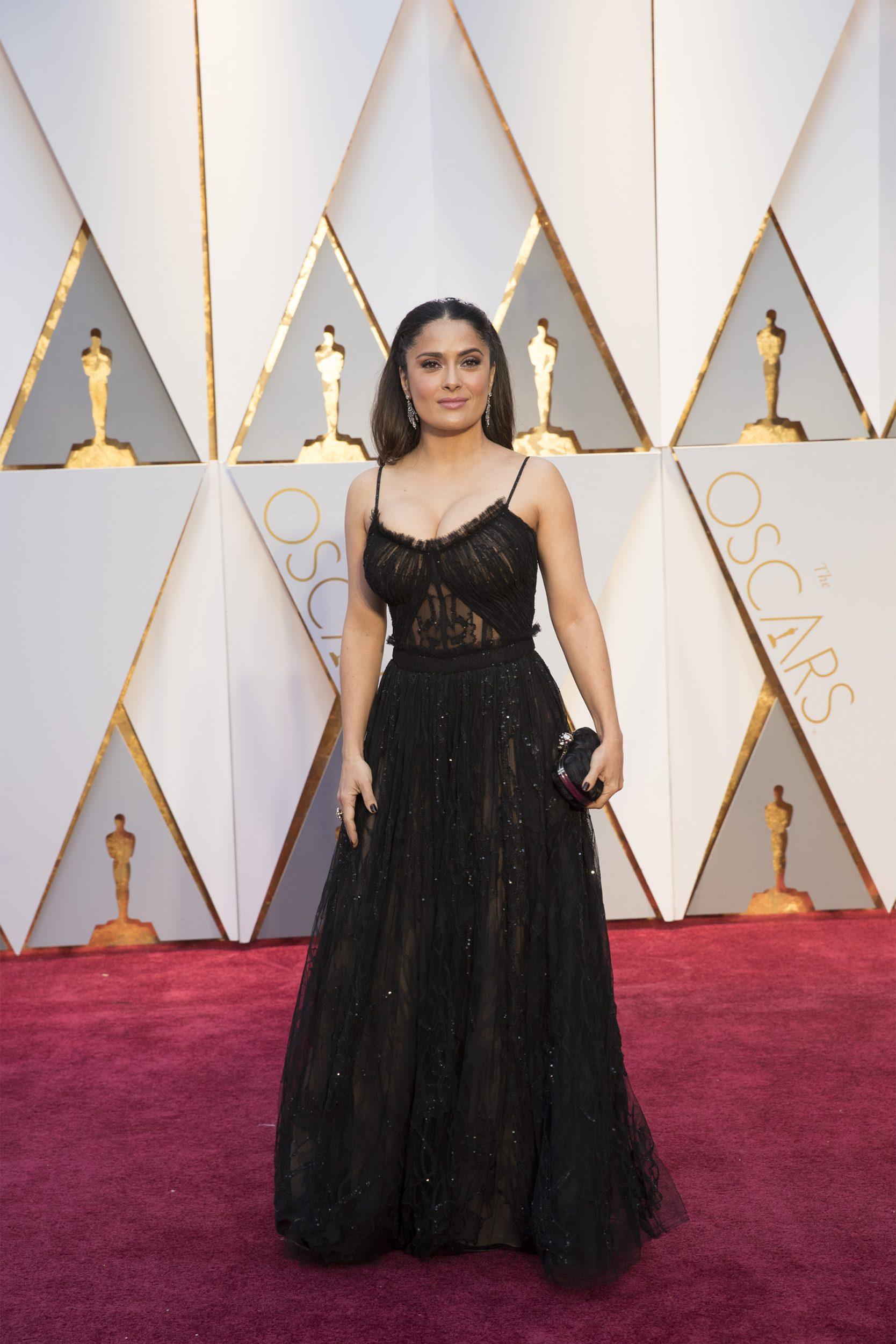 THE OSCARS(r) - The 89th Oscars(r)  broadcasts live on Oscar(r) SUNDAY, FEBRUARY 26, 2017, on the ABC Television Network. (ABC/Tyler Golden) SALMA HAYEK