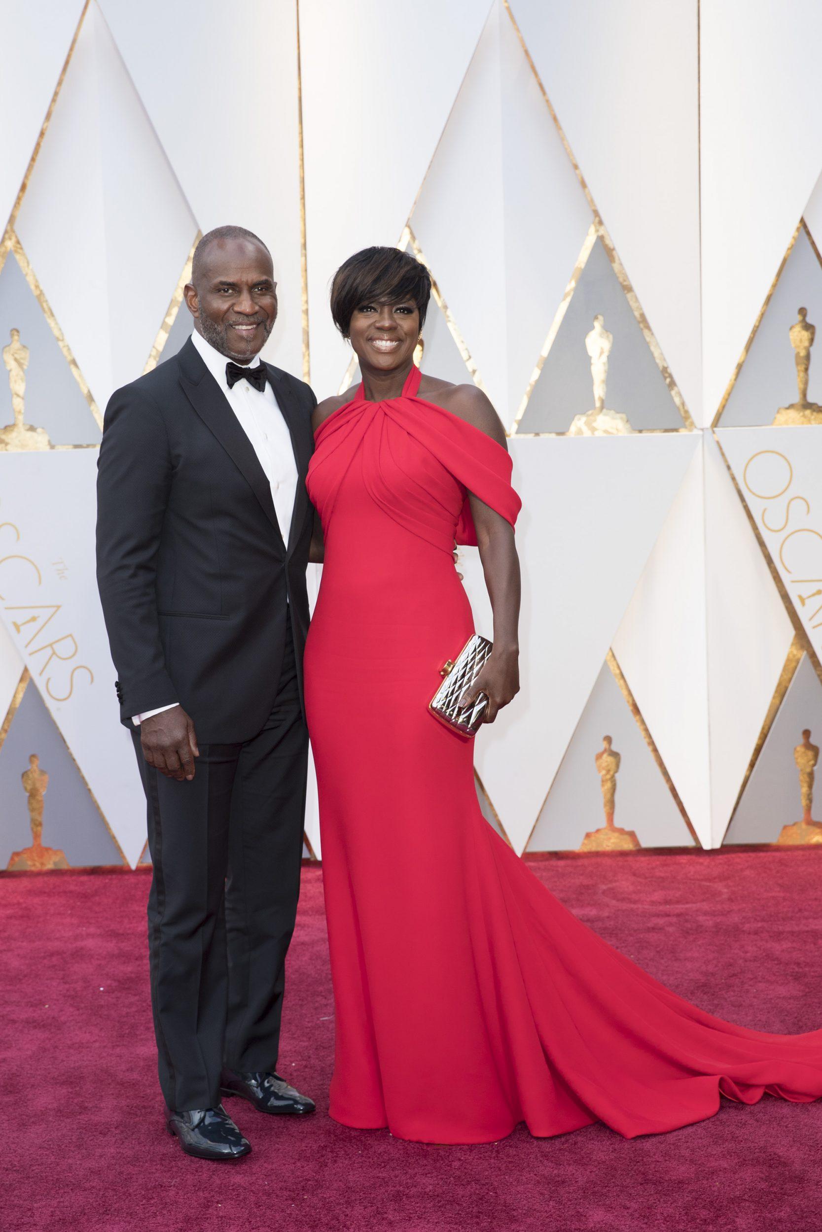 THE OSCARS(r) - The 89th Oscars(r)  broadcasts live on Oscar(r) SUNDAY, FEBRUARY 26, 2017, on the ABC Television Network. (ABC/Tyler Golden) JULIUS TENNON, VIOLA DAVIS