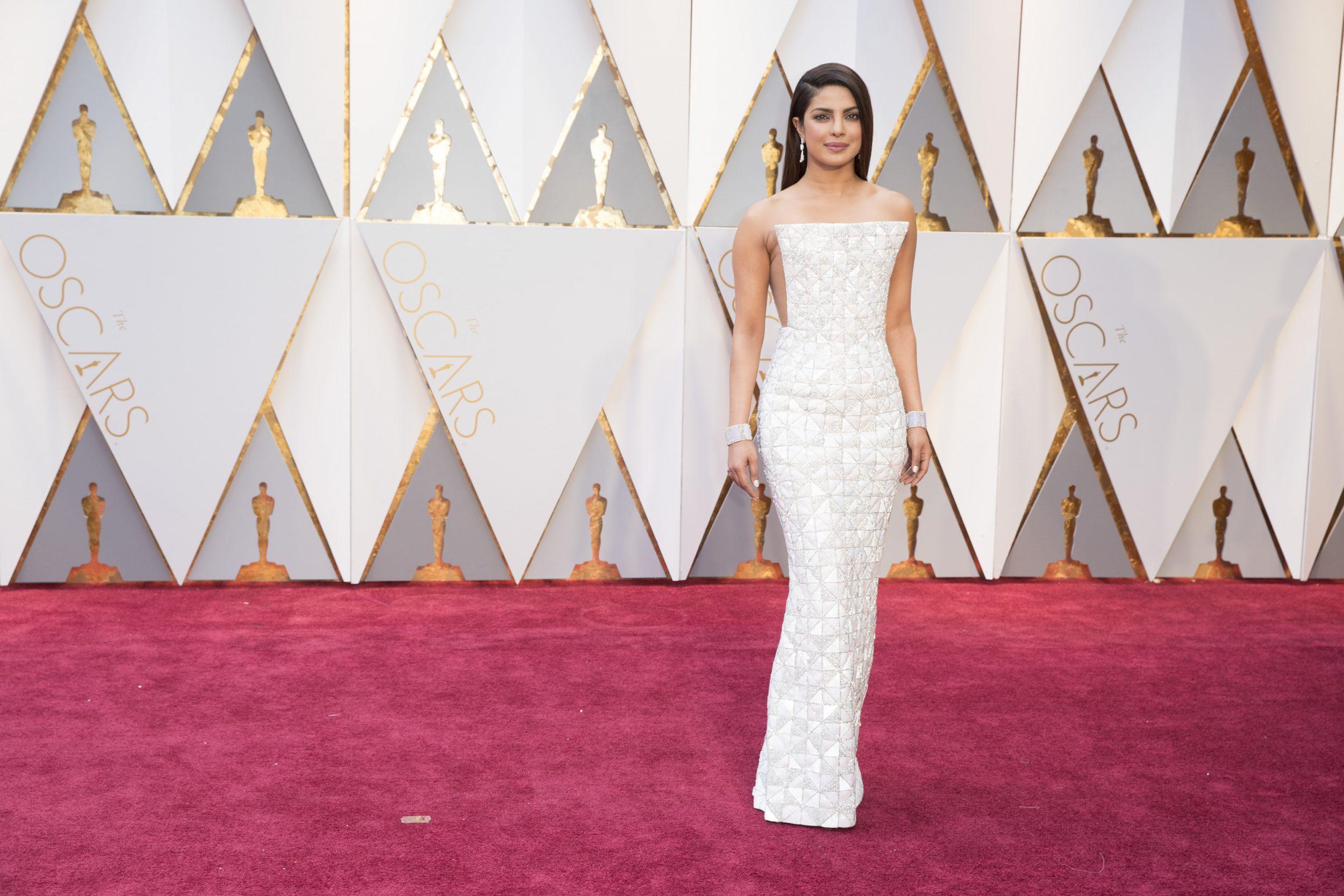THE OSCARS(r) - The 89th Oscars(r)  broadcasts live on Oscar(r) SUNDAY, FEBRUARY 26, 2017, on the ABC Television Network. (ABC/Tyler Golden) PRIYANKA CHOPRA