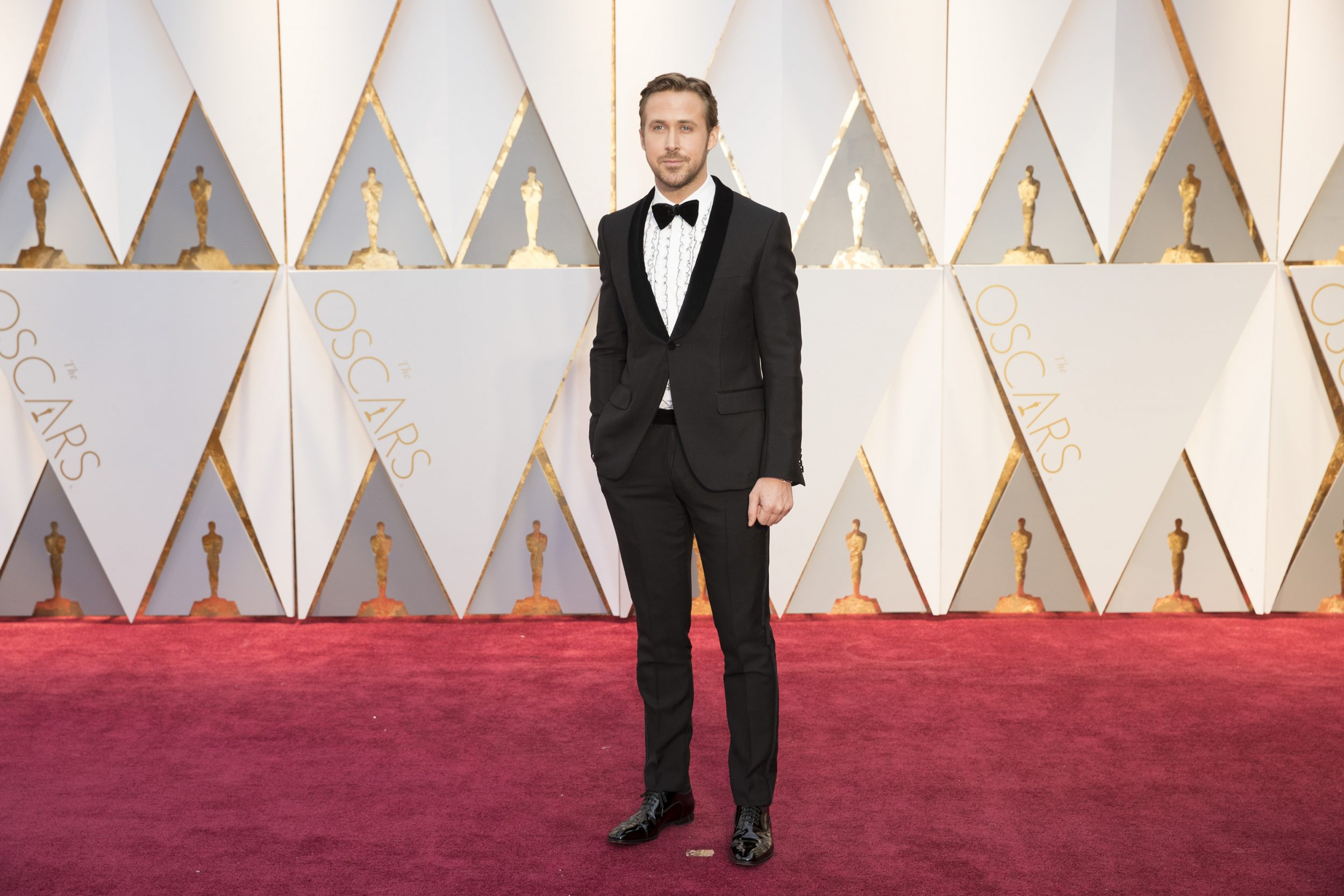 THE OSCARS(r) - The 89th Oscars(r)  broadcasts live on Oscar(r) SUNDAY, FEBRUARY 26, 2017, on the ABC Television Network. (ABC/Tyler Golden) RYAN GOSLING