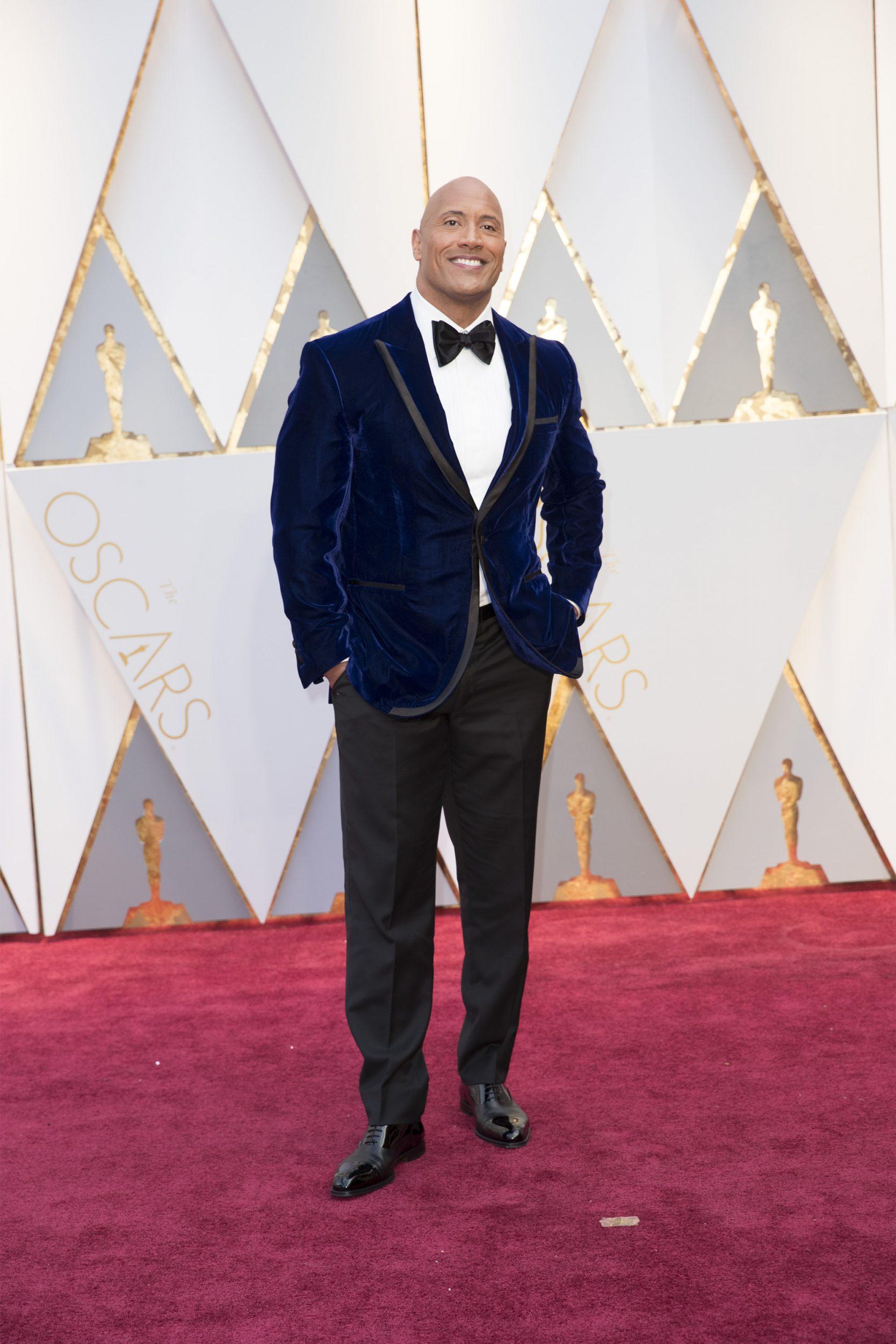THE OSCARS(r) - The 89th Oscars(r)  broadcasts live on Oscar(r) SUNDAY, FEBRUARY 26, 2017, on the ABC Television Network. (ABC/Tyler Golden) DWAYNE JOHNSON