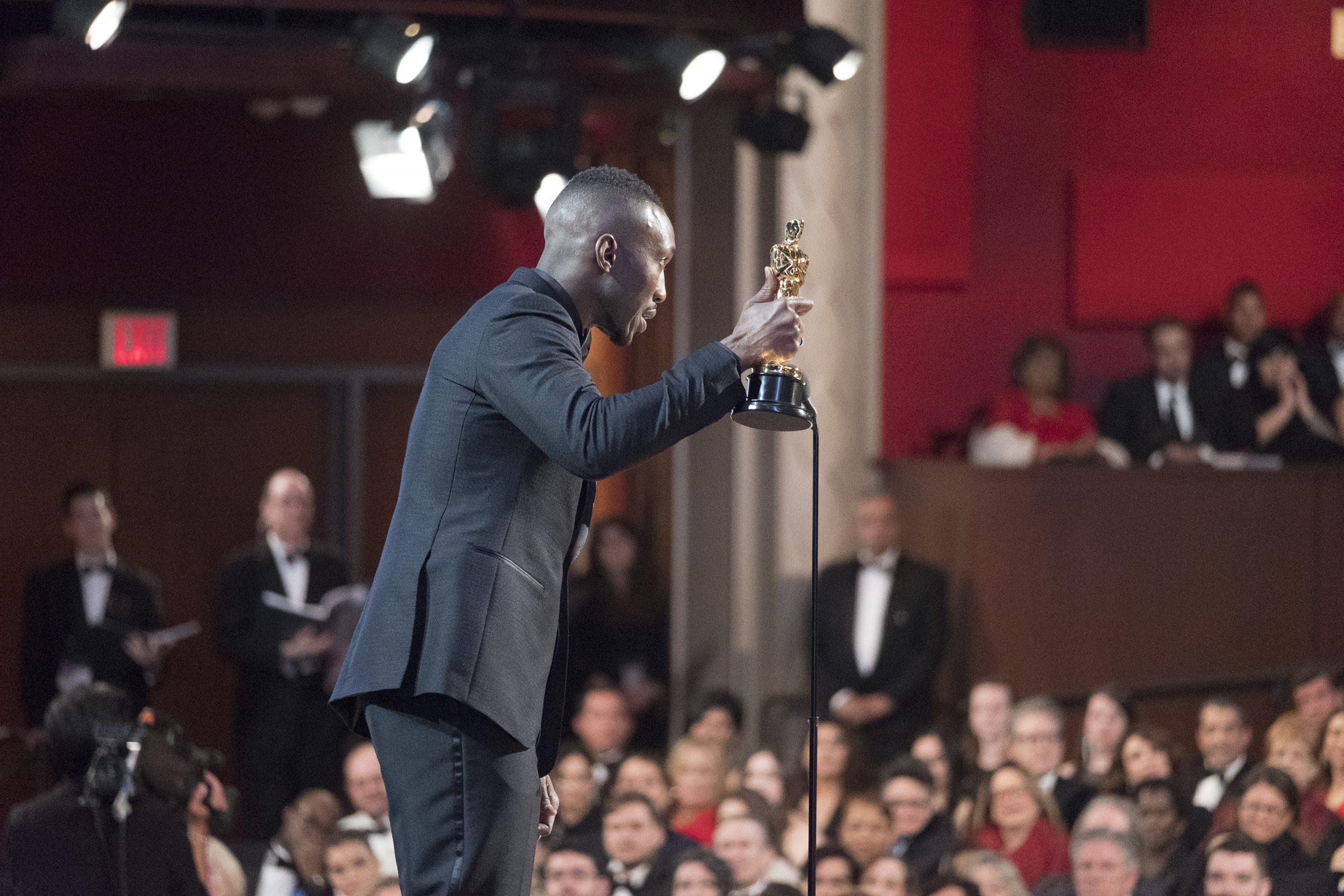 THE OSCARS(r) - The 89th Oscars(r)  broadcasts live on Oscar(r) SUNDAY, FEBRUARY 26, 2017, on the ABC Television Network. (ABC/Adam Rose) MAHERSHALA ALI