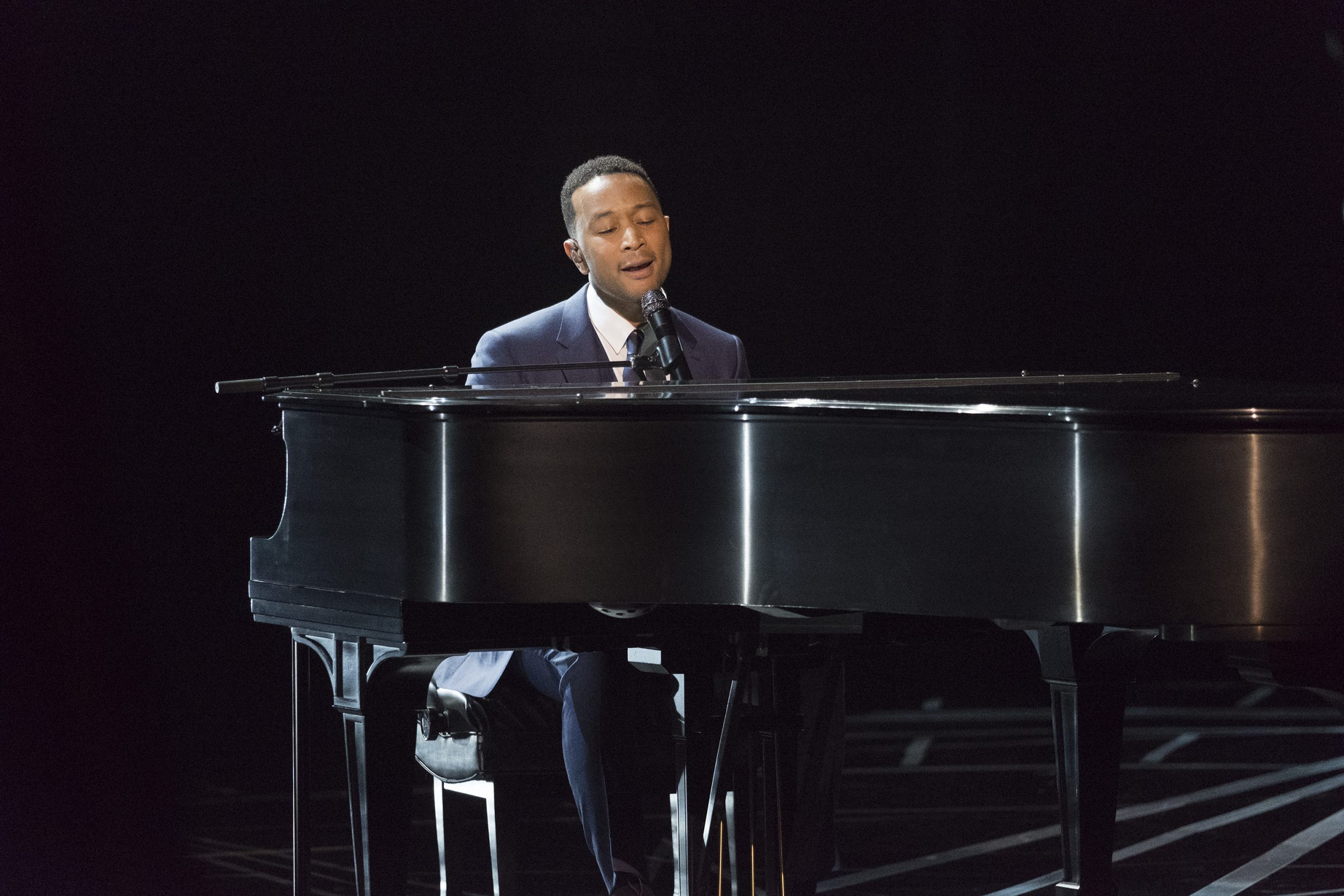 THE OSCARS(r) - The 89th Oscars(r)  broadcasts live on Oscar(r) SUNDAY, FEBRUARY 26, 2017, on the ABC Television Network. (ABC/Adam Rose) JOHN LEGEND