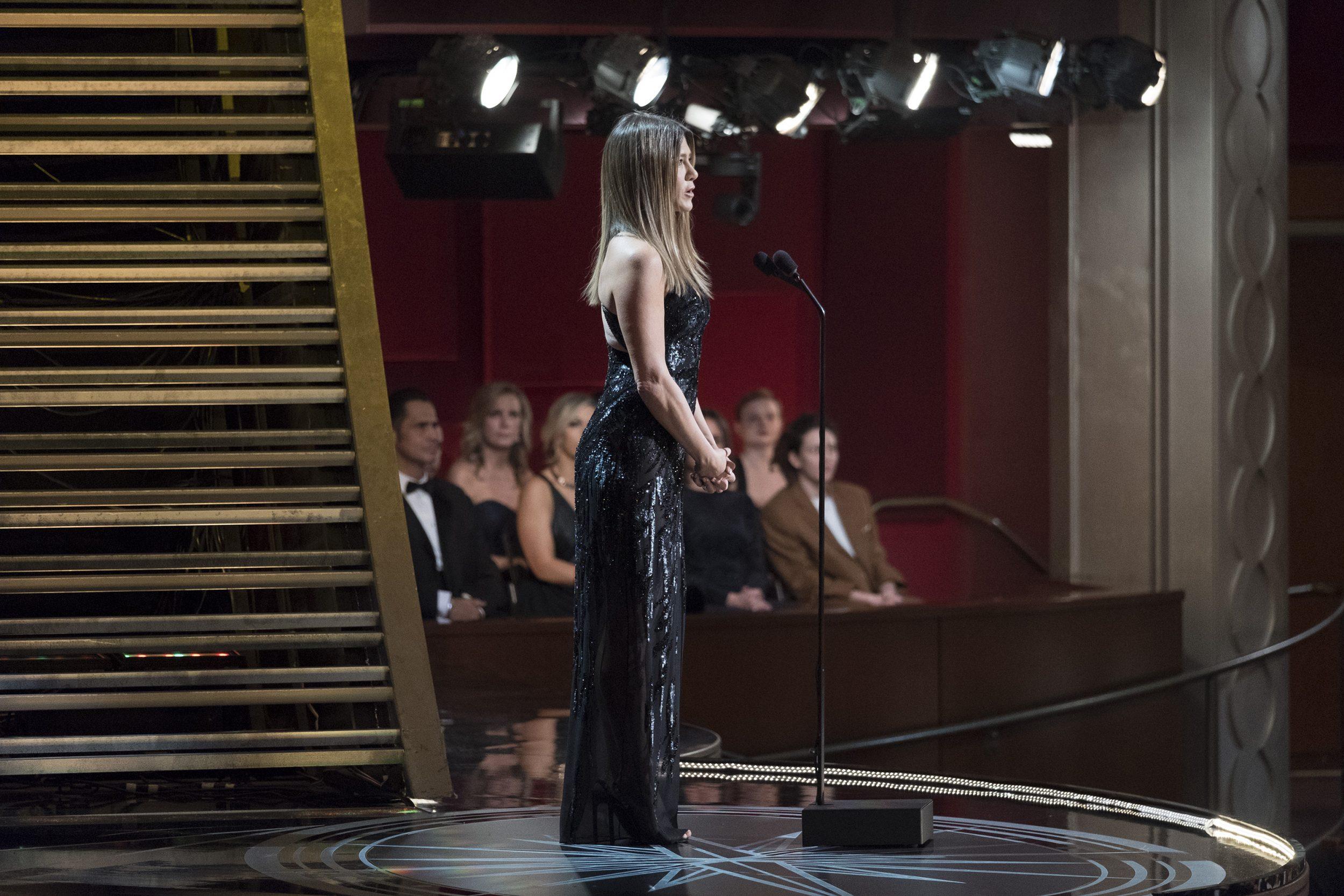 THE OSCARS(r) - The 89th Oscars(r)  broadcasts live on Oscar(r) SUNDAY, FEBRUARY 26, 2017, on the ABC Television Network. (ABC/Adam Rose) JENNIFER ANISTON