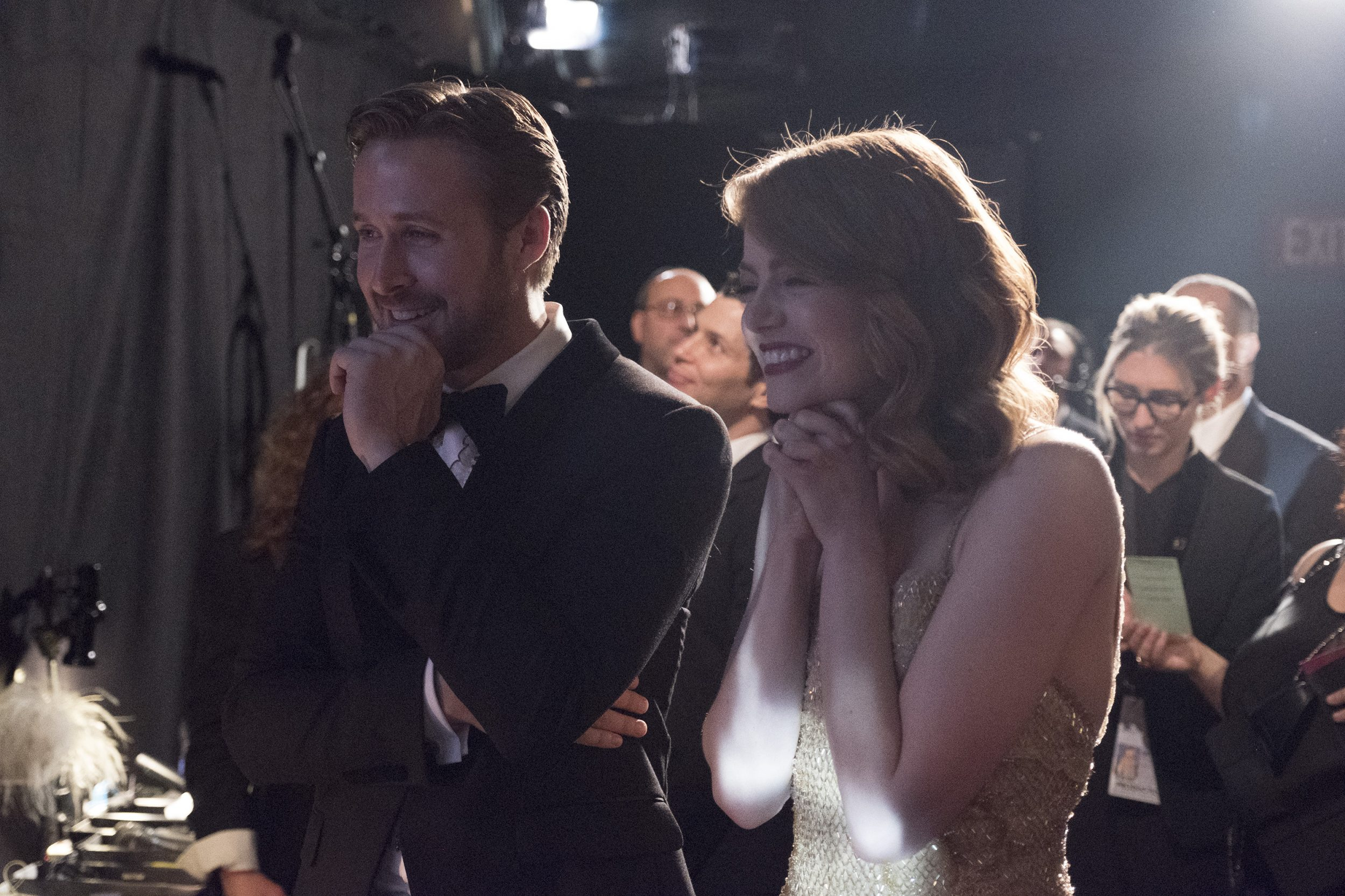 THE OSCARS(r) - The 89th Oscars(r)  broadcasts live on Oscar(r) SUNDAY, FEBRUARY 26, 2017, on the ABC Television Network. (ABC/Adam Rose) RYAN GOSLING, EMMA STONE