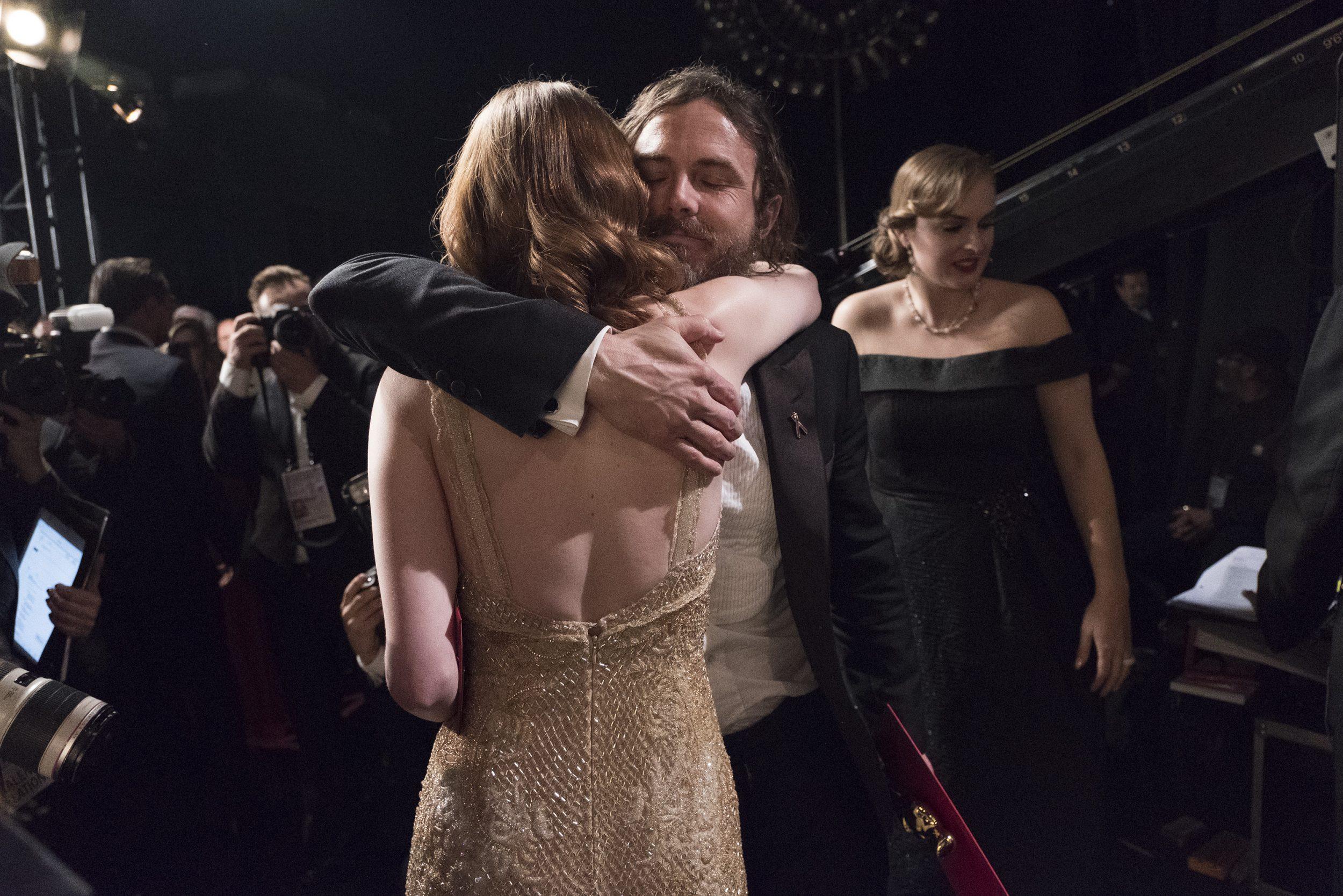 THE OSCARS(r) - The 89th Oscars(r)  broadcasts live on Oscar(r) SUNDAY, FEBRUARY 26, 2017, on the ABC Television Network. (ABC/Adam Rose) CASEY AFFLECK