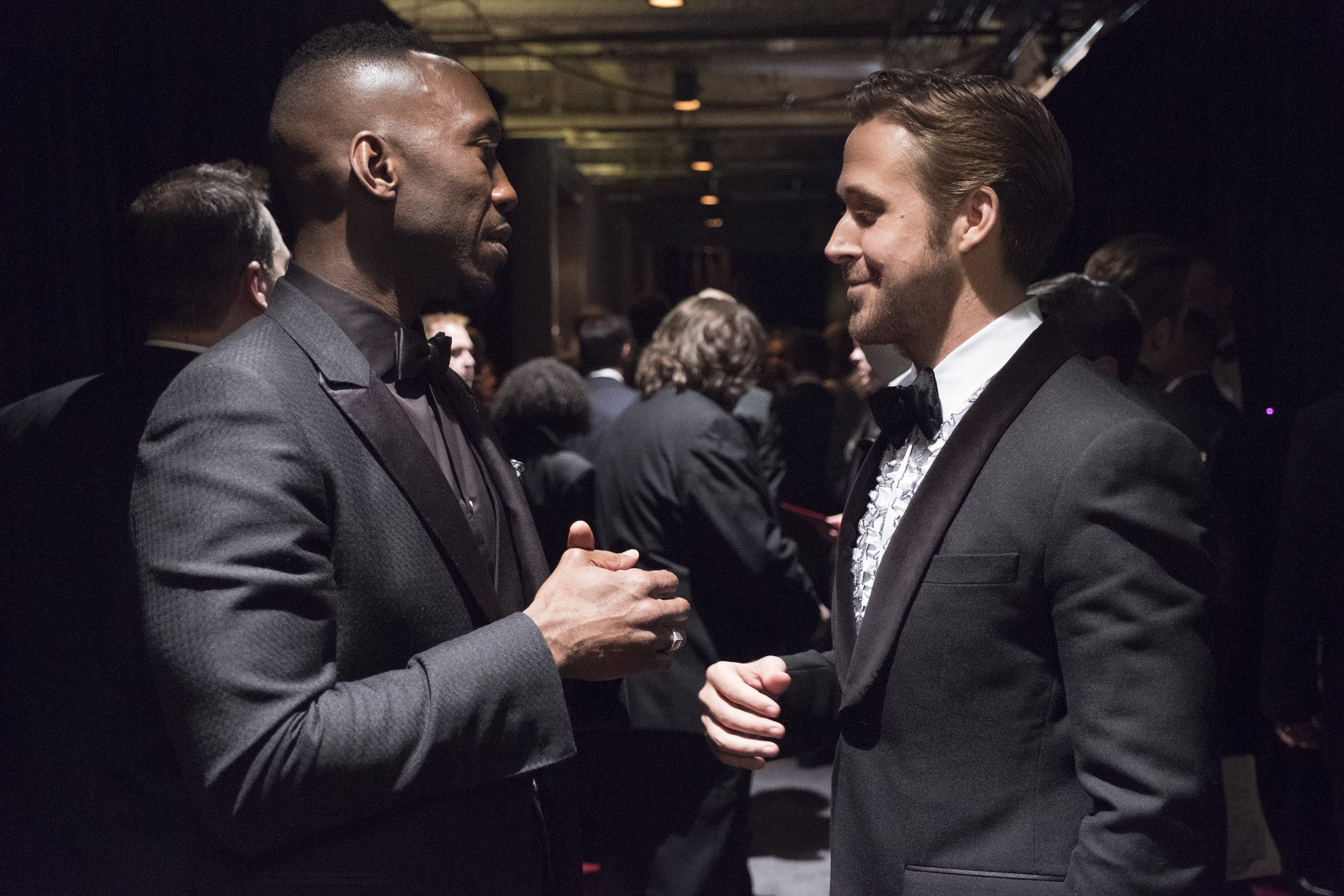 THE OSCARS(r) - The 89th Oscars(r)  broadcasts live on Oscar(r) SUNDAY, FEBRUARY 26, 2017, on the ABC Television Network. (ABC/Adam Rose) MAHERSHALA ALI, RYAN GOSLING