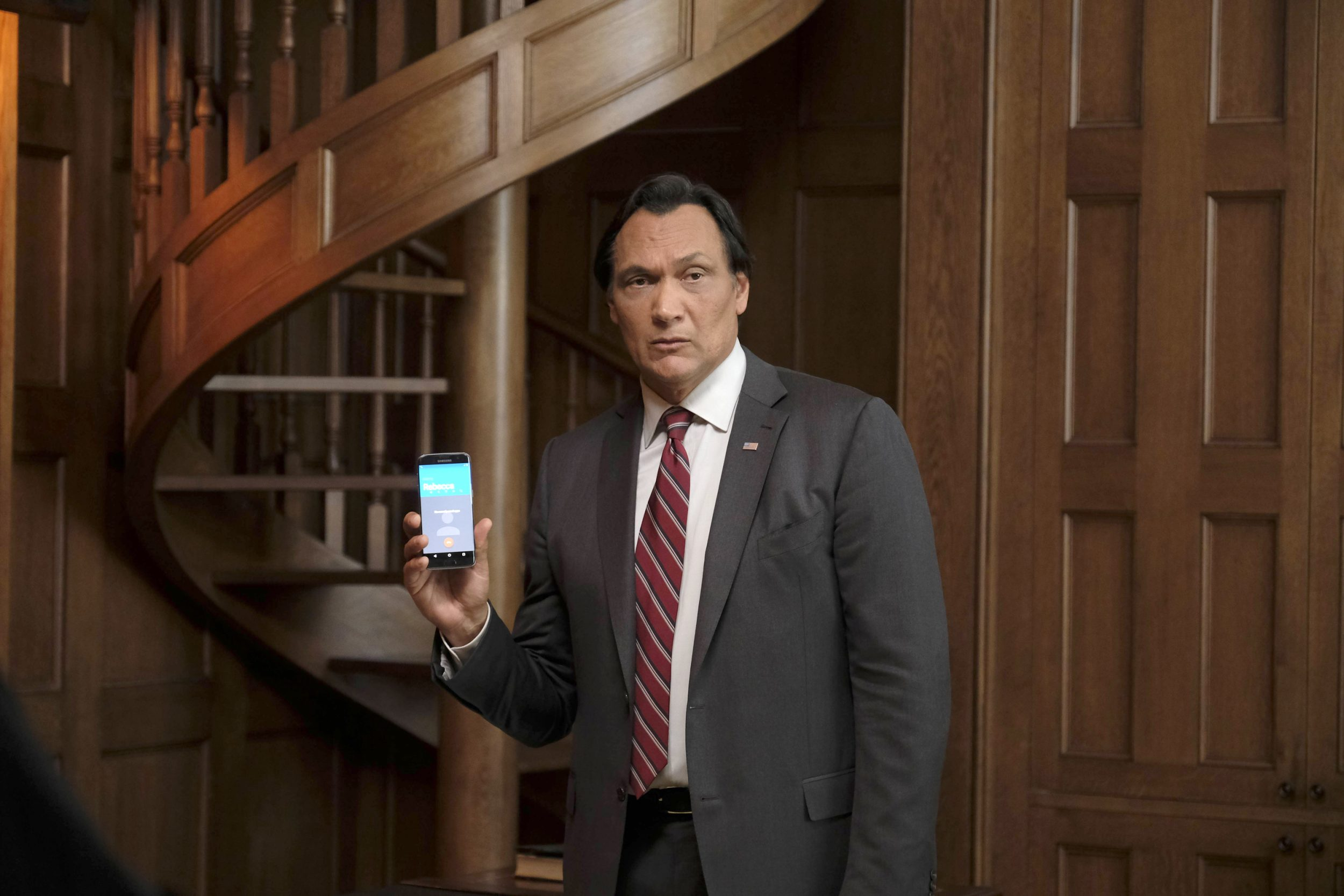 "24: LEGACY: Jimmy Smits in the ""3:00 PM-4:00 PM"" episode of 24: LEGACY airing Monday, Feb. 20 (8:00-9:01 PM ET/PT) on FOX. ©2017 Fox Broadcasting Co. Cr: Guy D'Alema/FOX"