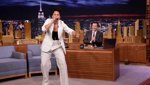 """Alicia Keys Plays """"Wheel Of Musical Impressions"""" On Fallon's """"Tonight Show"""" (Watch Now)"""