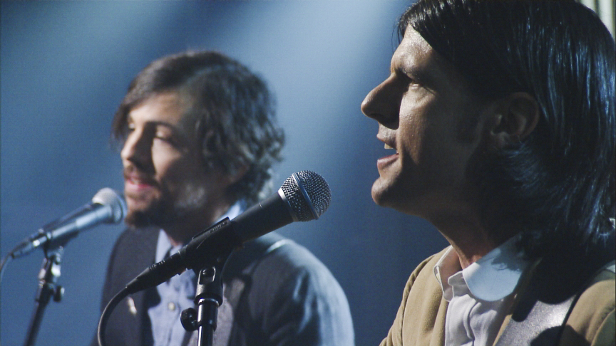 The Late Show with Stephen Colbert airing Tuesday, Feb. 7, 2017 with John Oliver, Actress Isabelle Huppert, musical performance by The Avett Brothers. Pictured: The Avett Brothers. Photo: Michele Crowe/CBS ©2016CBS Broadcasting Inc. All Rights Reserved