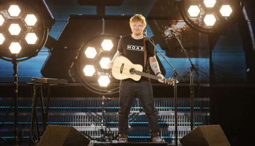 Ed Sheeran Tops 8th Straight UK Singles Chart; Chainsmokers & Coldplay Up To #2