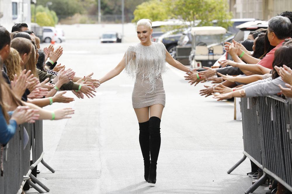 "THE VOICE -- ""Blind Auditions"" -- Pictured: Gwen Stefani -- (Photo by: Trae Patton/NBC)"