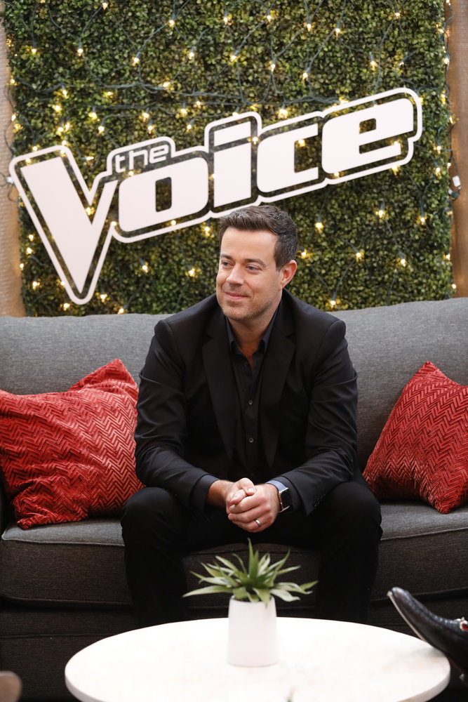 "THE VOICE -- ""Blind Auditions"" -- Pictured: Carson Daly -- (Photo by: Trae Patton/NBC)"