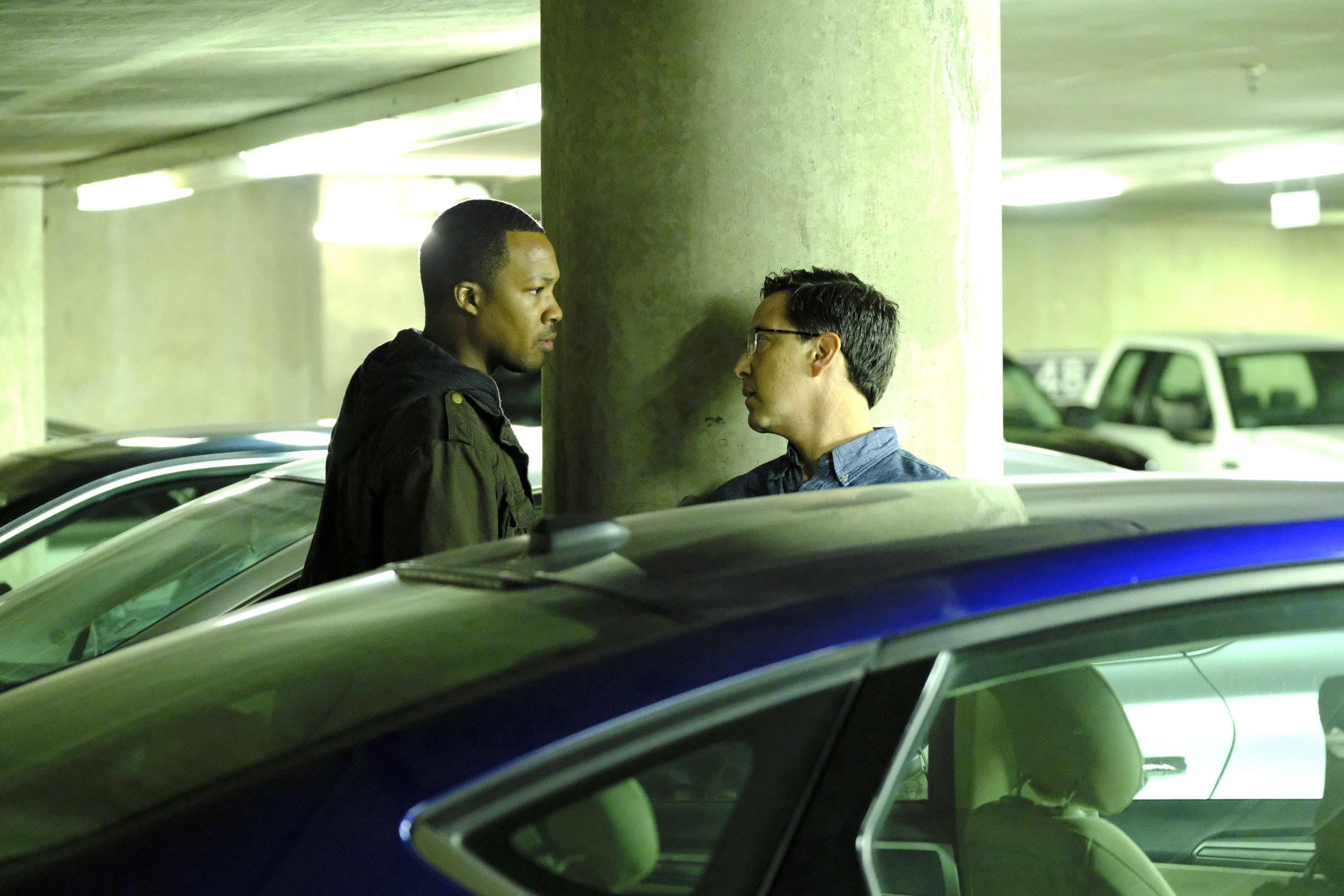 24: LEGACY: L-R: Corey Hawkins and Dan Bucatinsky in the new Ò6:00 PM-7:00 PMÓ episode of 24: LEGACY airing Monday, March 13 (8:00-9:01 PM ET/PT) on FOX. ©2017 Fox Broadcasting Co. Cr: Guy D'Alema/FOX