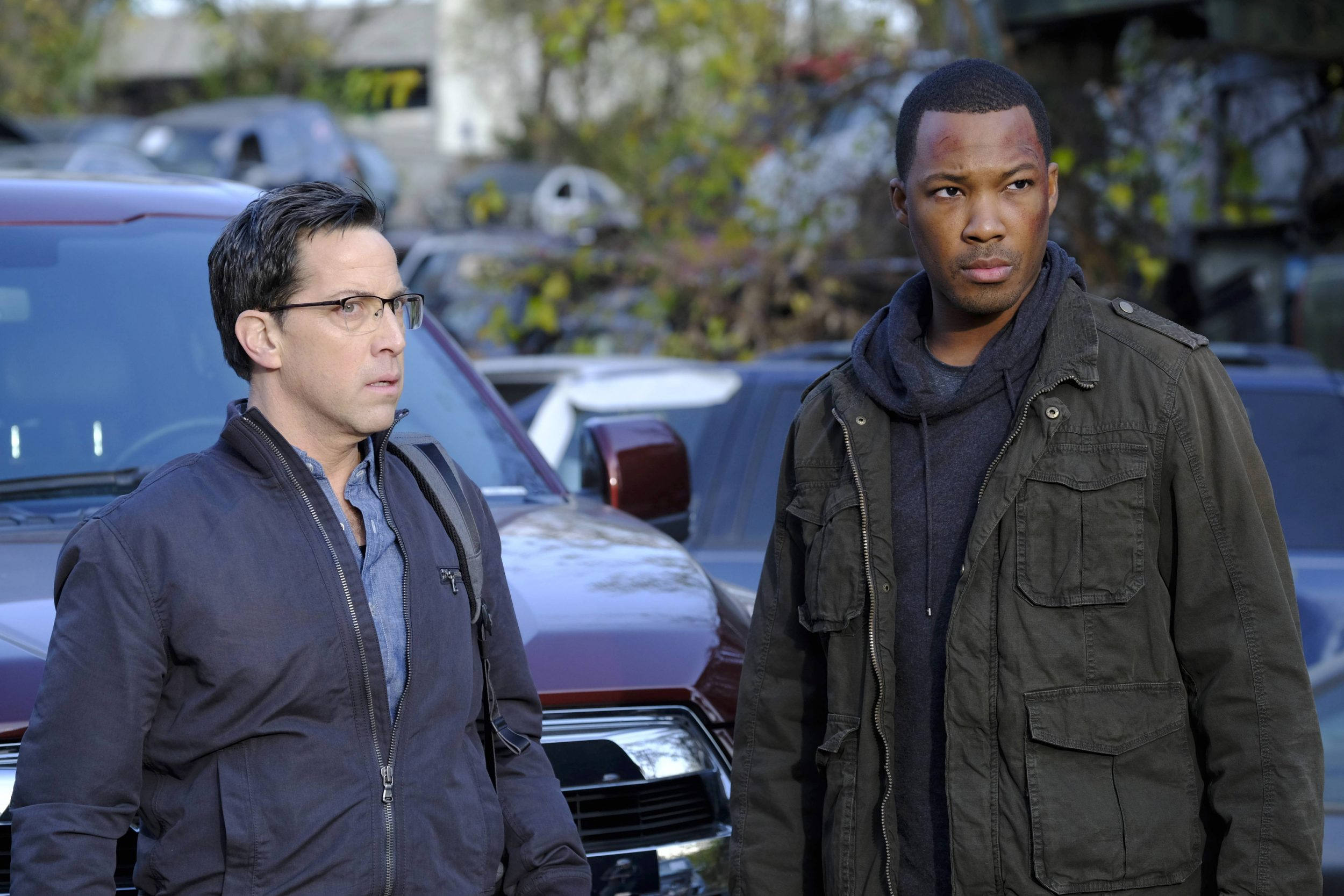 24: LEGACY: L-R: Dan Bucatinsky and Corey Hawkins in the new Ò6:00 PM-7:00 PMÓ episode of 24: LEGACY airing Monday, March 13 (8:00-9:01 PM ET/PT) on FOX. ©2017 Fox Broadcasting Co. Cr: Guy D'Alema/FOX