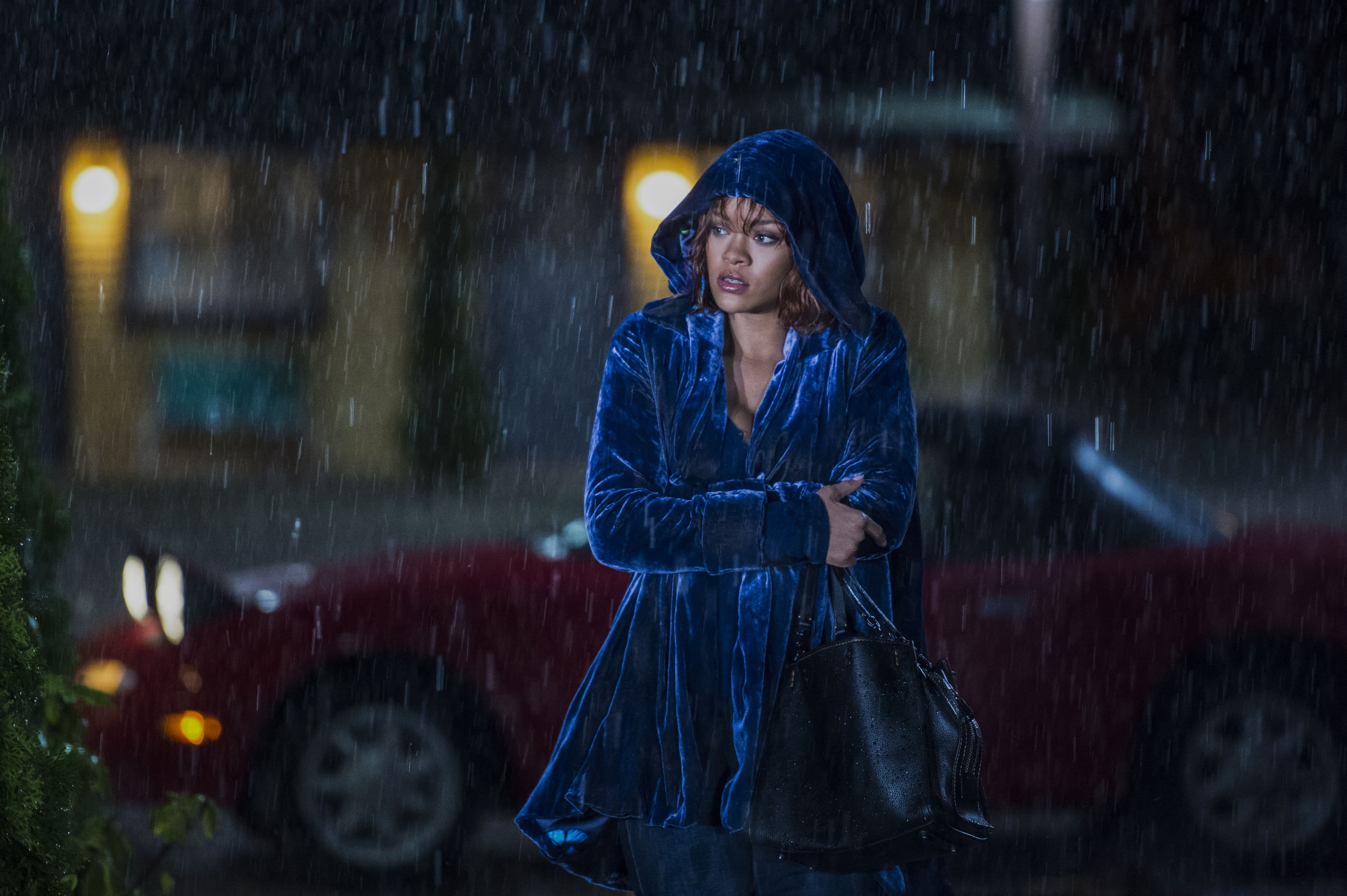 "Rihanna stars as Marion Crane in A&E's ""Bates Motel"" Photo by Cate Cameron Copyright 2017"