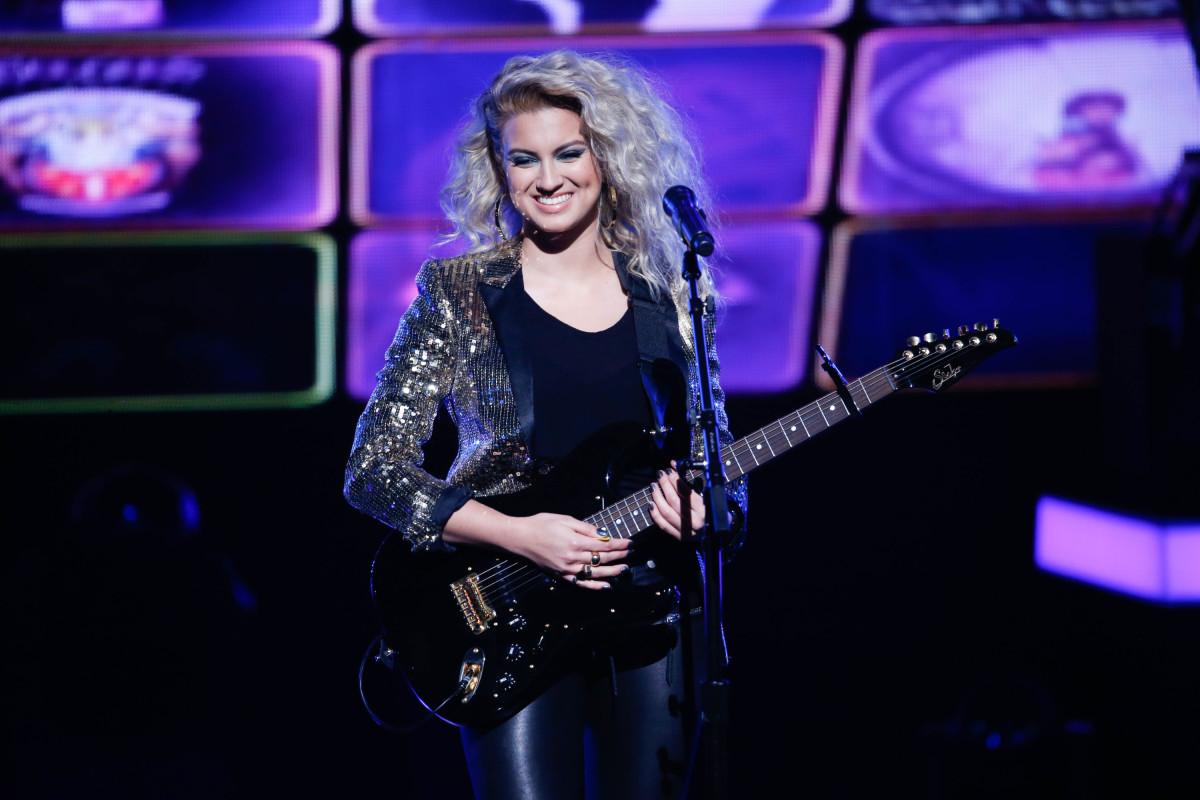 "Music stars Andra Day, Celine Dion, DNCE, Nick Jonas, Tori Kelly, Little Big Town, Demi Lovato, Katharine McPhee, Panic! at the Disco, Pentatonix, Ed Sheeran, Keith Urban, Kelsea Ballerini & Thomas Rhett, Jason Derulo & Tavares, John Legend & Stevie Wonder and Barry Gibb celebrate the Bee Gees' remarkable music catalog on, ""STAYIN' ALIVE: A GRAMMY® SALUTE TO THE MUSIC OF THE BEE GEES,"" Sunday, April, 16 (8:00-10:00 PM, ET/ PT) on the CBS Television Network. Pictured: Tori Kelly Photo: Monty Brinton/CBS ©2017 CBS Broadcasting, Inc. All Rights Reserved"