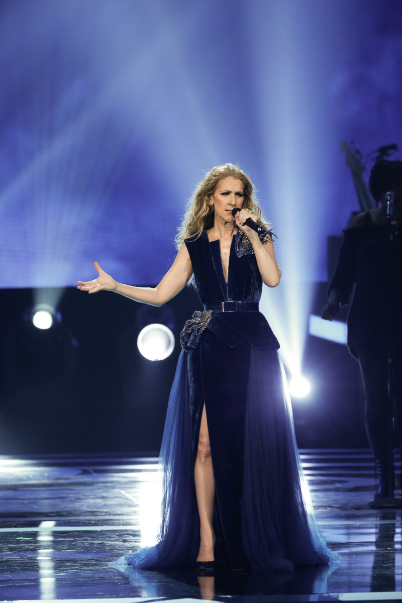 "Music stars Andra Day, Celine Dion, DNCE, Nick Jonas, Tori Kelly, Little Big Town, Demi Lovato, Katharine McPhee, Panic! at the Disco, Pentatonix, Ed Sheeran, Keith Urban, Kelsea Ballerini & Thomas Rhett, Jason Derulo & Tavares, John Legend & Stevie Wonder and Barry Gibb celebrate the Bee Gees' remarkable music catalog on, ""STAYIN' ALIVE: A GRAMMY® SALUTE TO THE MUSIC OF THE BEE GEES,"" Sunday, April, 16 (8:00-10:00 PM, ET/ PT) on the CBS Television Network. Pictured: Celine Dion Photo: Monty Brinton/CBS ©2017 CBS Broadcasting, Inc. All Rights Reserved"