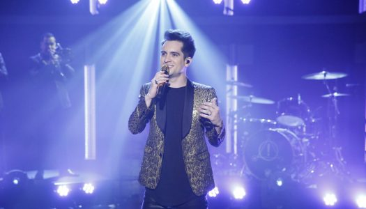 """Panic! At The Disco Performs """"Death Of A Bachelor"""" On Seth Meyers' """"Late Night"""" (Watch)"""