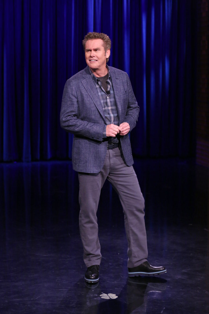 THE TONIGHT SHOW STARRING JIMMY FALLON -- Episode 0648 -- Pictured:  Comedian Brian Regan performs on March 28, 2017 -- (Photo by: Andrew Lipovsky/NBC)