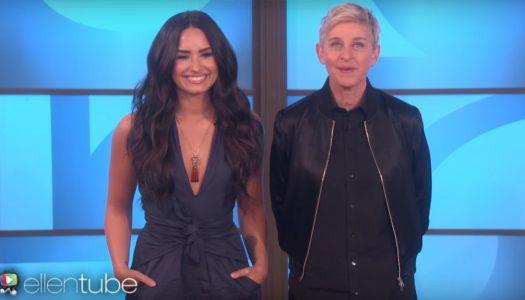 "Demi Lovato Set To Appear, Ed Sheeran To Perform On April 5 ""Ellen DeGeneres Show"""