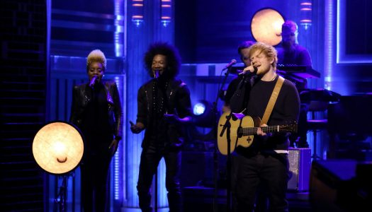 "Ed Sheeran Performs On Friday's ""Tonight Show Starring Jimmy Fallon"" (Watch Now)"