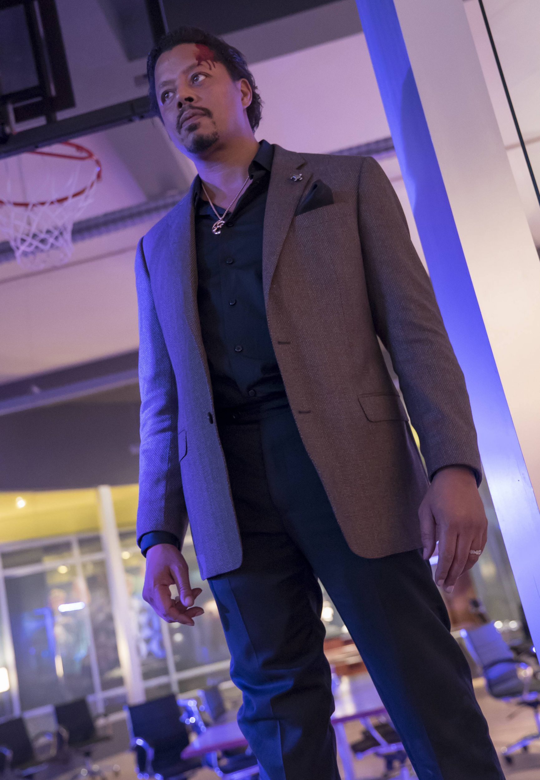 """EMPIRE: Terrence Howard in the """"Sound & Fury"""" spring premiere episode of EMPIRE airing Wednesday, March 22 (9:00-10:00 PM ET/PT) on FOX. ©2017 Fox Broadcasting Co. CR: Chuck Hodes/FOX"""