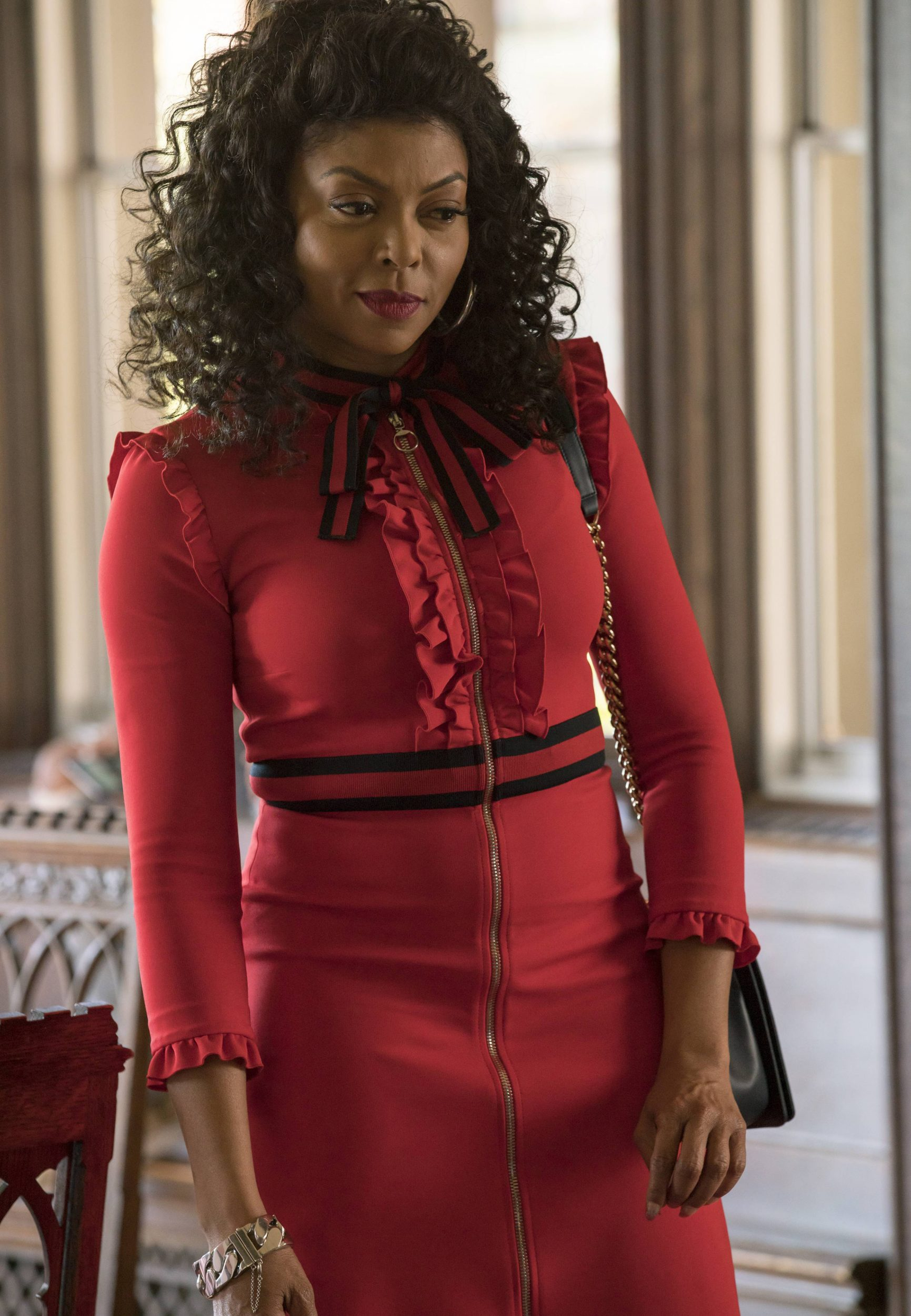 """EMPIRE: Taraji P. Henson in the """"Sound & Fury"""" spring premiere episode of EMPIRE airing Wednesday, March 22 (9:00-10:00 PM ET/PT) on FOX. ©2017 Fox Broadcasting Co. CR: Chuck Hodes/FOX"""