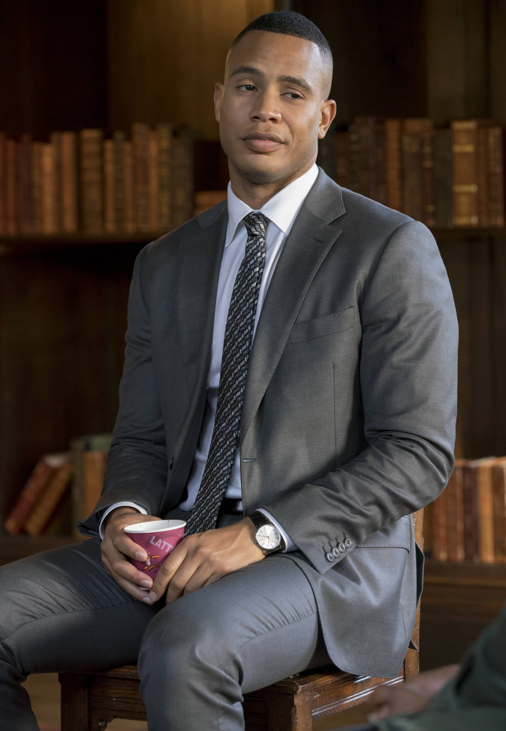 """EMPIRE: Trai Byers in the """"Sound & Fury"""" spring premiere episode of EMPIRE airing Wednesday, March 22 (9:00-10:00 PM ET/PT) on FOX. ©2017 Fox Broadcasting Co. CR: Chuck Hodes/FOX"""