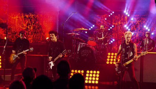 """Green Day Performs """"Still Breathing"""" On """"The Late Show With Stephen Colbert"""" (Watch Now)"""