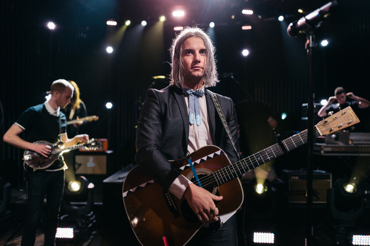"""Judah & The Lion performs during """"The Late Late Show with James Corden,"""" Monday, March 13, 2017 (12:35 PM-1:37 AM ET/PT) On The CBS Television Network. Photo: Terence Patrick/CBS ©2017 CBS Broadcasting, Inc. All Rights Reserved"""