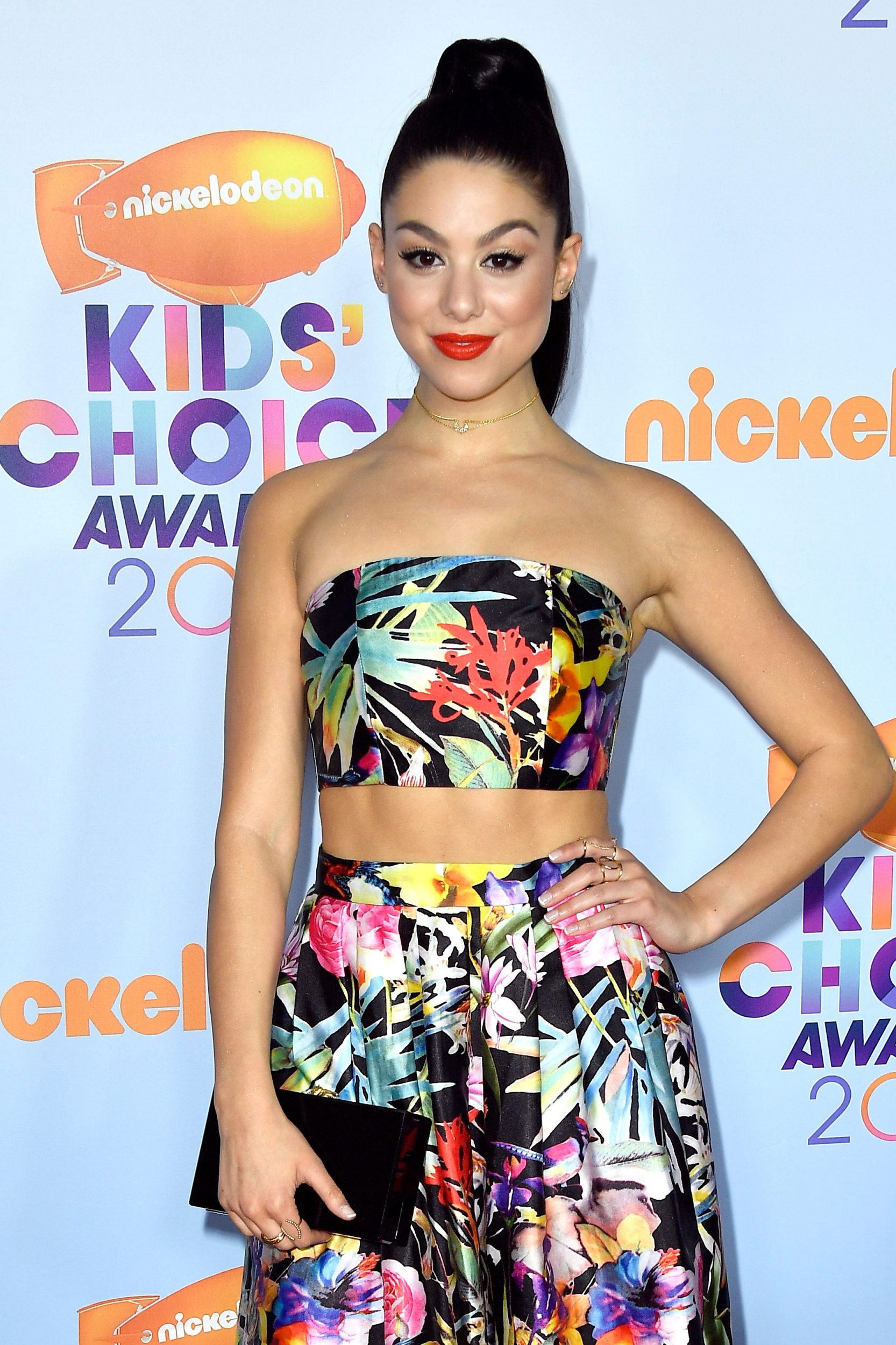 LOS ANGELES, CA - MARCH 11:  Actor Kira Kosarin at Nickelodeon's 2017 Kids' Choice Awards at USC Galen Center on March 11, 2017 in Los Angeles, California.  (Photo by Frazer Harrison/Getty Images - Issued to Media by Nickelodeon)