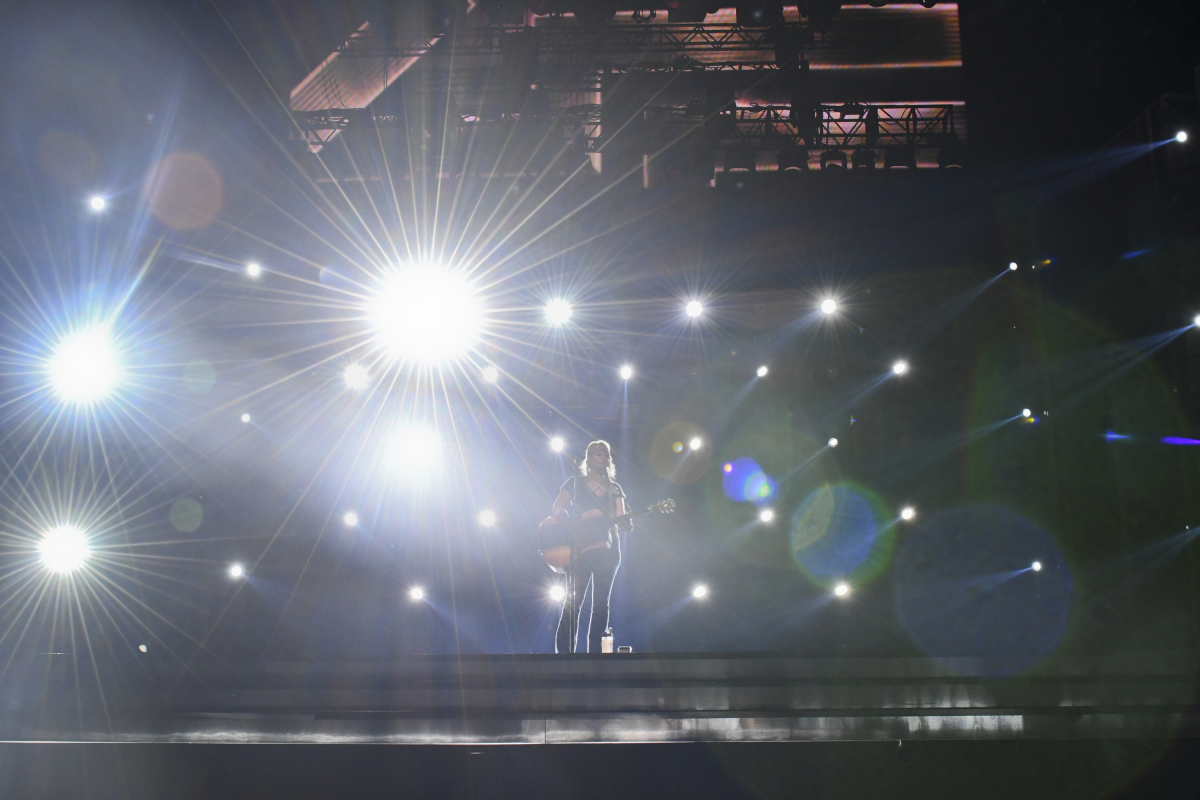 Miranda Lambert performs during rehearsal for THE 52ND ACADEMY OF COUNTRY MUSIC AWARDS®, scheduled to air LIVE from T-Mobile Arena in Las Vegas Sunday, April 2 (live 8:00-11:00 PM, ET/delayed PT) on the CBS Television Network. Photo: Michele Crowe/CBS ©2017 CBS Broadcasting, Inc. All Rights Reserved