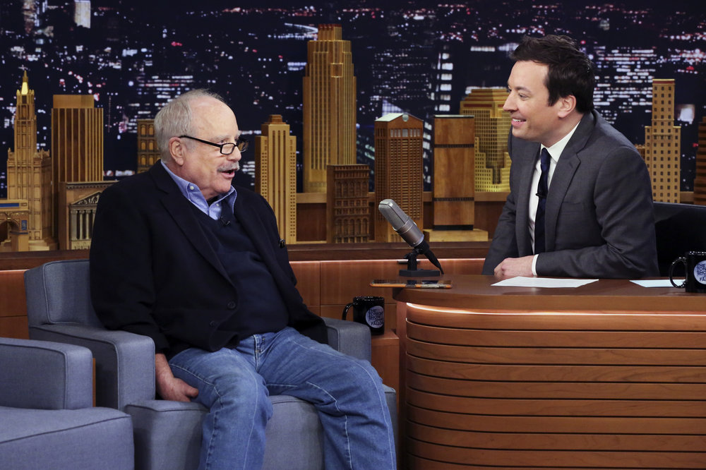 THE TONIGHT SHOW STARRING JIMMY FALLON -- Episode 0647 -- Pictured: (l-r) Actor Richard Dreyfuss during an interview with host Jimmy Fallon on March 27, 2017 -- (Photo by: Andrew Lipovsky/NBC)