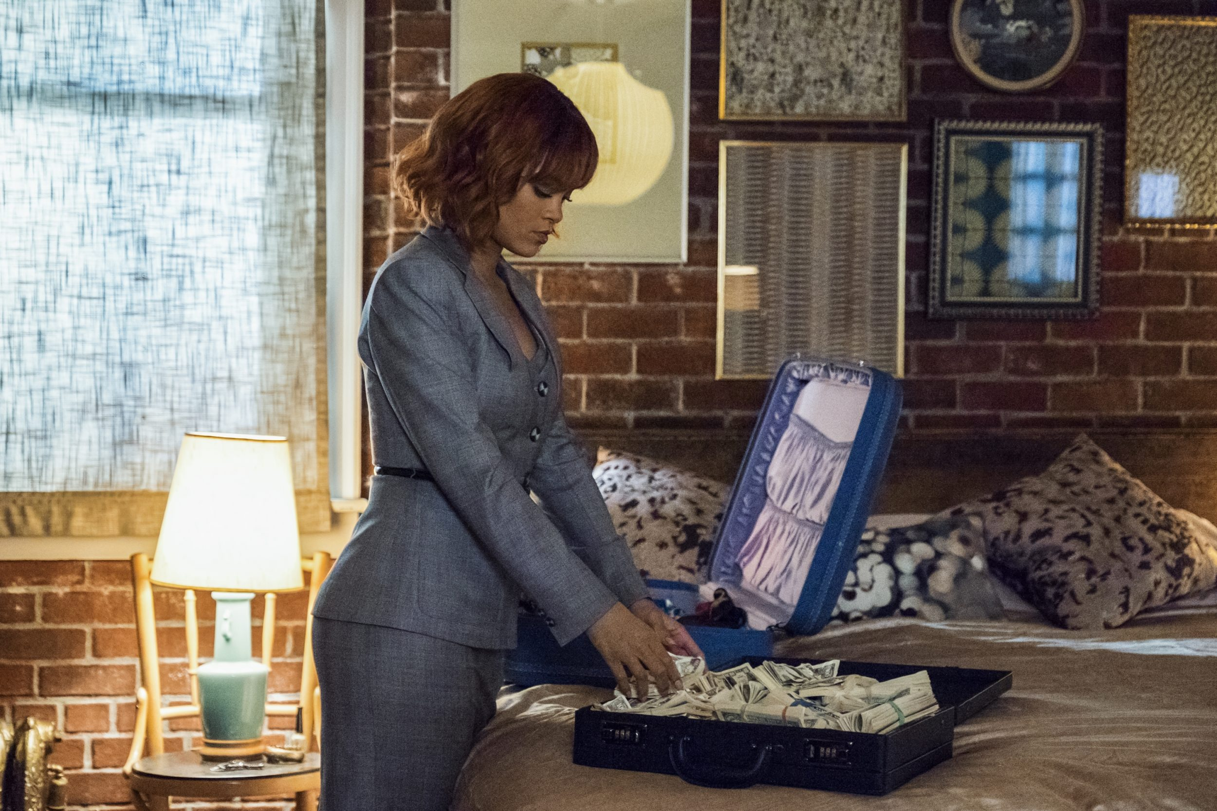 "DREAMS DIE FIRST Rihanna stars as Marion Crane in A&E's ""Bates Motel"" Photo by Cate Cameron Copyright 2017"