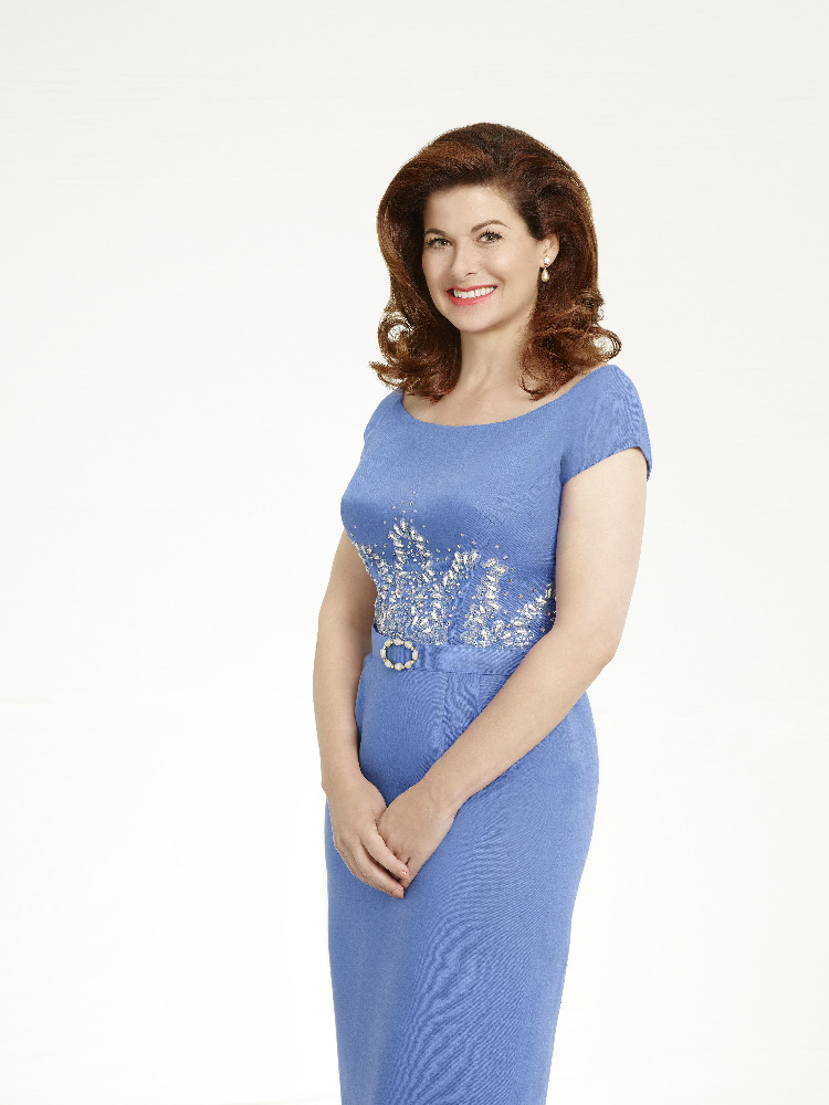 DIRTY DANCING - ABC's 'Dirty Dancing' stars Debra Messing as Marjorie Houseman. (ABC/Craig Sjodin)