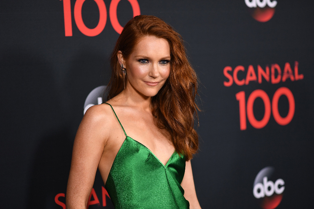 "SCANDAL - The cast of ""Scandal"" attended a 100th episode celebration in West Hollywood, CA. The 100th episode, entitled ""The Decision,"" airs THURSDAY, APRIL 13 (9:01-10:00 p.m. EST), on the ABC Television Network. (ABC/Todd Wawrychuk) DARBY STANCHFIELD"