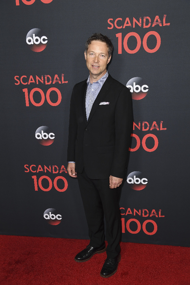 "SCANDAL - The cast of ""Scandal"" attended a 100th episode celebration in West Hollywood, CA. The 100th episode, entitled ""The Decision,"" airs THURSDAY, APRIL 13 (9:01-10:00 p.m. EST), on the ABC Television Network. (ABC/Todd Wawrychuk) GEORGE NEWBERN"