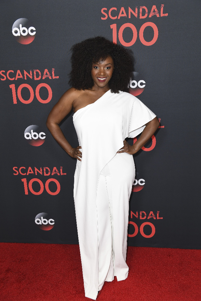"SCANDAL - The cast of ""Scandal"" attended a 100th episode celebration in West Hollywood, CA. The 100th episode, entitled ""The Decision,"" airs THURSDAY, APRIL 13 (9:01-10:00 p.m. EST), on the ABC Television Network. (ABC/Todd Wawrychuk) SAYCON SENGBLOH"
