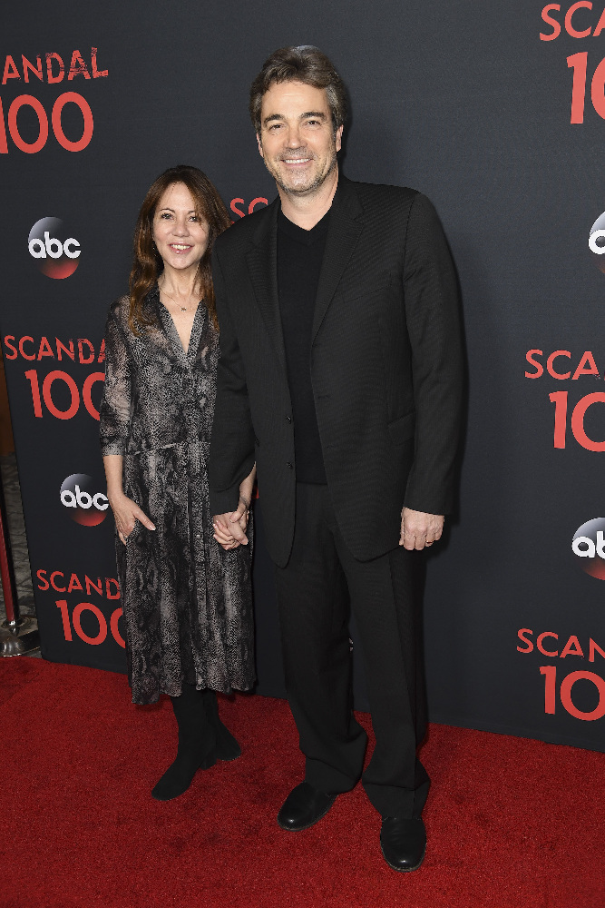 "SCANDAL - The cast of ""Scandal"" attended a 100th episode celebration in West Hollywood, CA. The 100th episode, entitled ""The Decision,"" airs THURSDAY, APRIL 13 (9:01-10:00 p.m. EST), on the ABC Television Network. (ABC/Todd Wawrychuk) JON TENNEY"