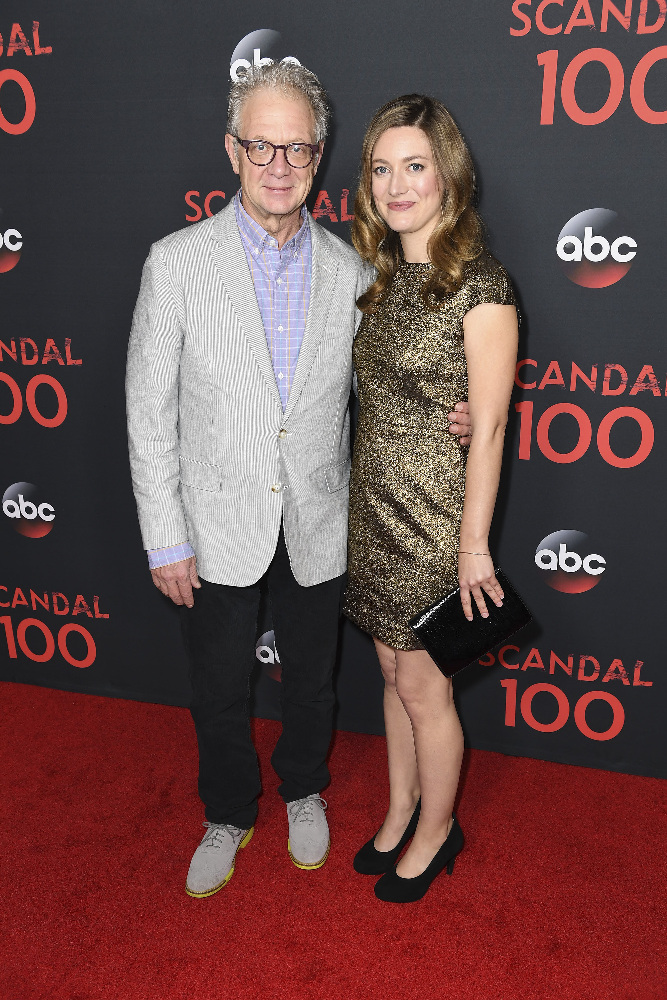 "SCANDAL - The cast of ""Scandal"" attended a 100th episode celebration in West Hollywood, CA. The 100th episode, entitled ""The Decision,"" airs THURSDAY, APRIL 13 (9:01-10:00 p.m. EST), on the ABC Television Network. (ABC/Todd Wawrychuk) JEFF PERRY"