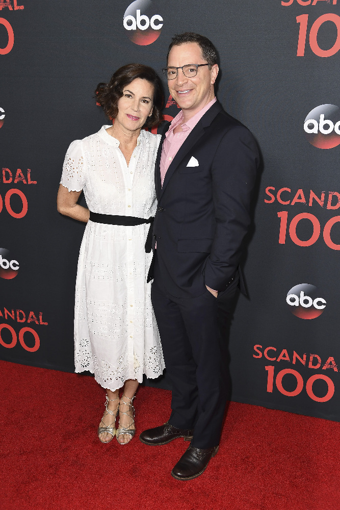 "SCANDAL - The cast of ""Scandal"" attended a 100th episode celebration in West Hollywood, CA. The 100th episode, entitled ""The Decision,"" airs THURSDAY, APRIL 13 (9:01-10:00 p.m. EST), on the ABC Television Network. (ABC/Todd Wawrychuk) JOSHUA MALINA"