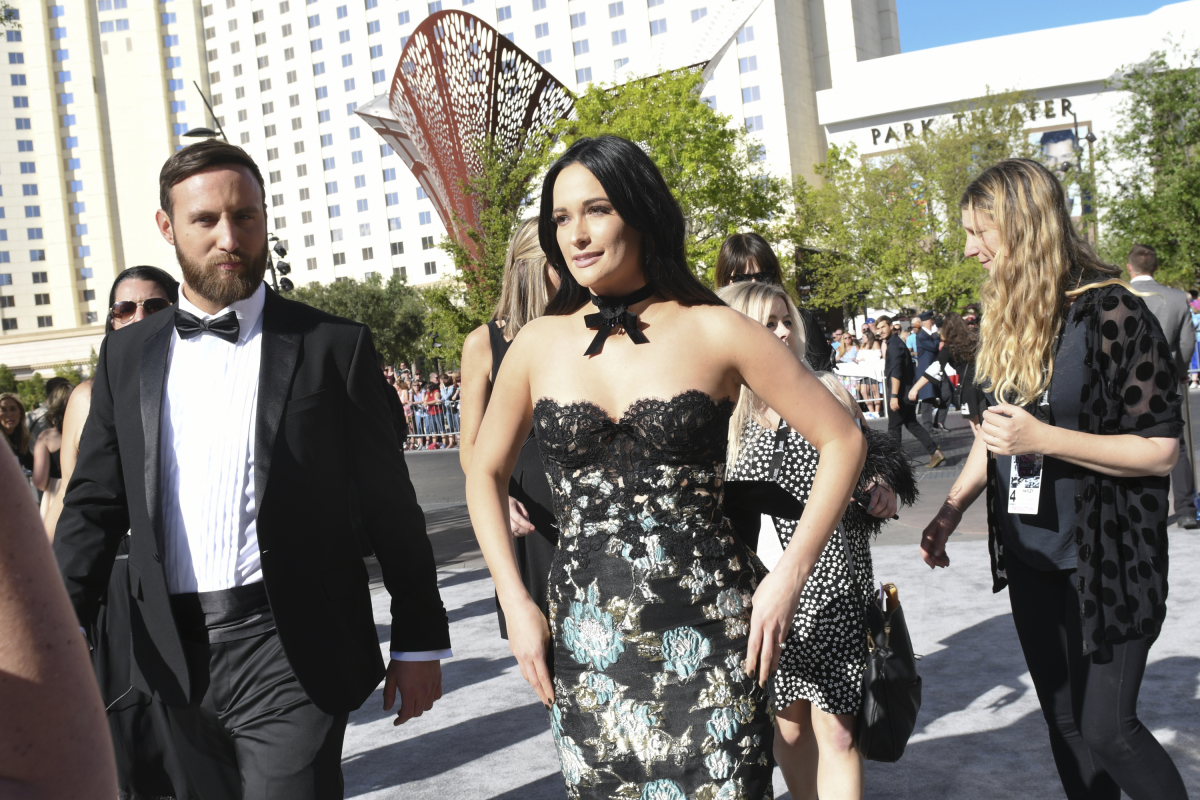 Kacey Musgraves on the red carpet for THE 52ND ACADEMY OF COUNTRY MUSIC AWARDS®, scheduled to air LIVE from T-Mobile Arena in Las Vegas Sunday, April 2 (live 8:00-11:00 PM, ET/delayed PT) on the CBS Television Network. Photo: Michele Crowe/CBS ©2017 CBS Broadcasting, Inc. All Rights Reserved