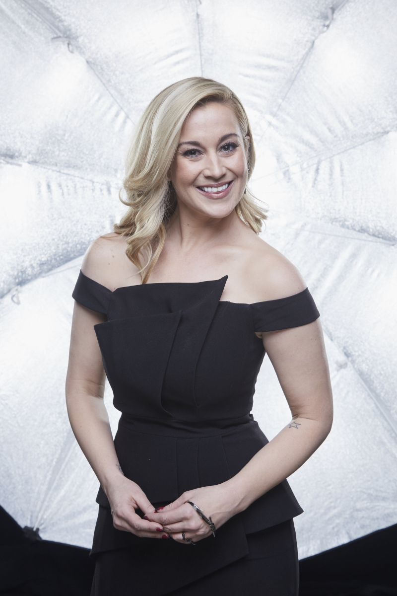 Kellie Pickler poses for a photograph at the photo booth THE 52ND ACADEMY OF COUNTRY MUSIC AWARDS®, broadcast LIVE from T-Mobile Arena in Las Vegas Sunday, April 2 (8:00-11:00 PM, live ET/delayed PT) on the CBS Television Network. Photo: Monty Brinton/CBS ©2017 CBS Broadcasting, Inc. All Rights Reserved