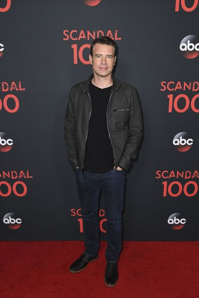 "SCANDAL – The cast of ""Scandal"" attended a 100th episode celebration in West Hollywood, CA. The 100th episode, entitled ""The Decision,"" airs THURSDAY, APRIL 13 (9:01-10:00 p.m. EST), on the ABC Television Network. (ABC/Todd Wawrychuk) SCOTT FOLEY"