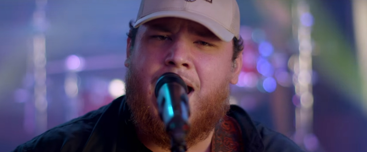 luke combs hurricane remains 1 at country radio
