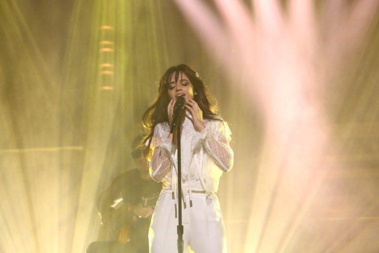 Camila Cabello Performs On Jimmy Fallon's