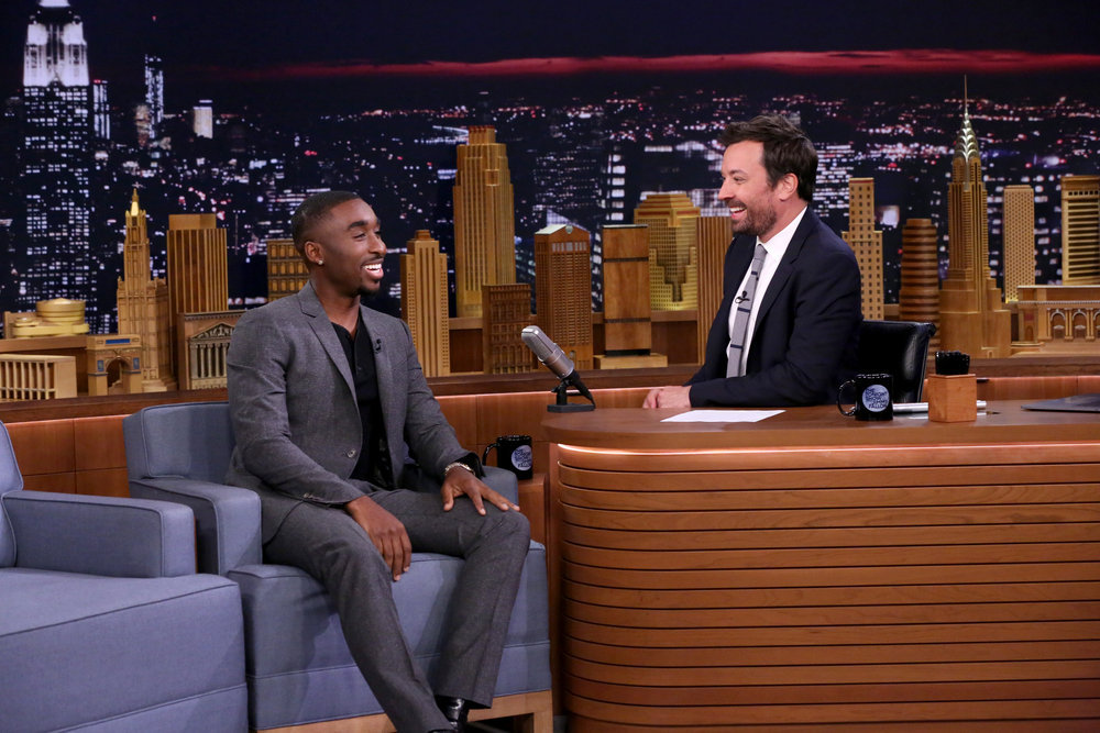 Image result for demetrius shipp jr on The Tonight Show